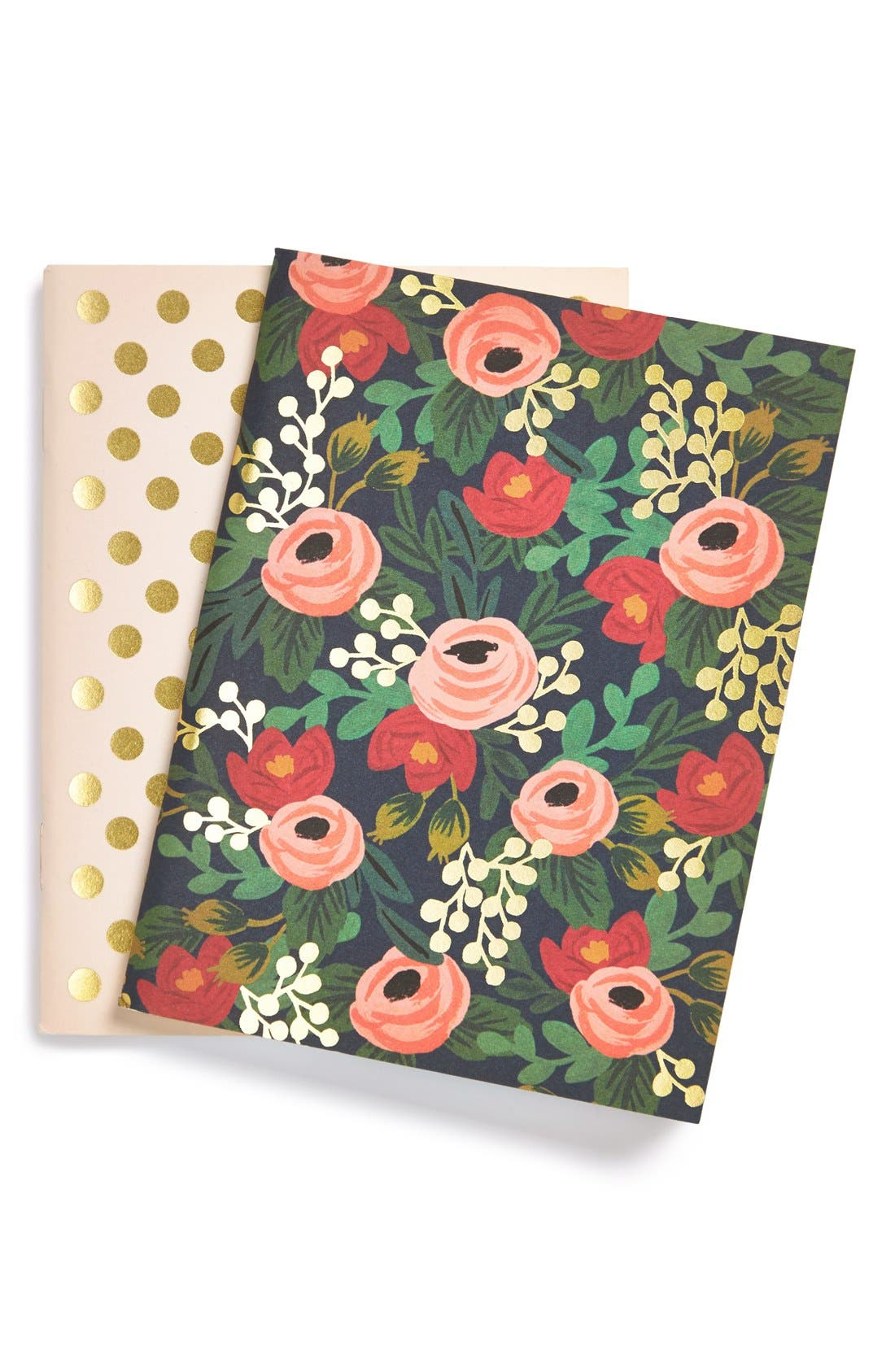 Alternate Image 1 Selected - Rifle Paper Co. Pocket Notebooks (Set of 2)