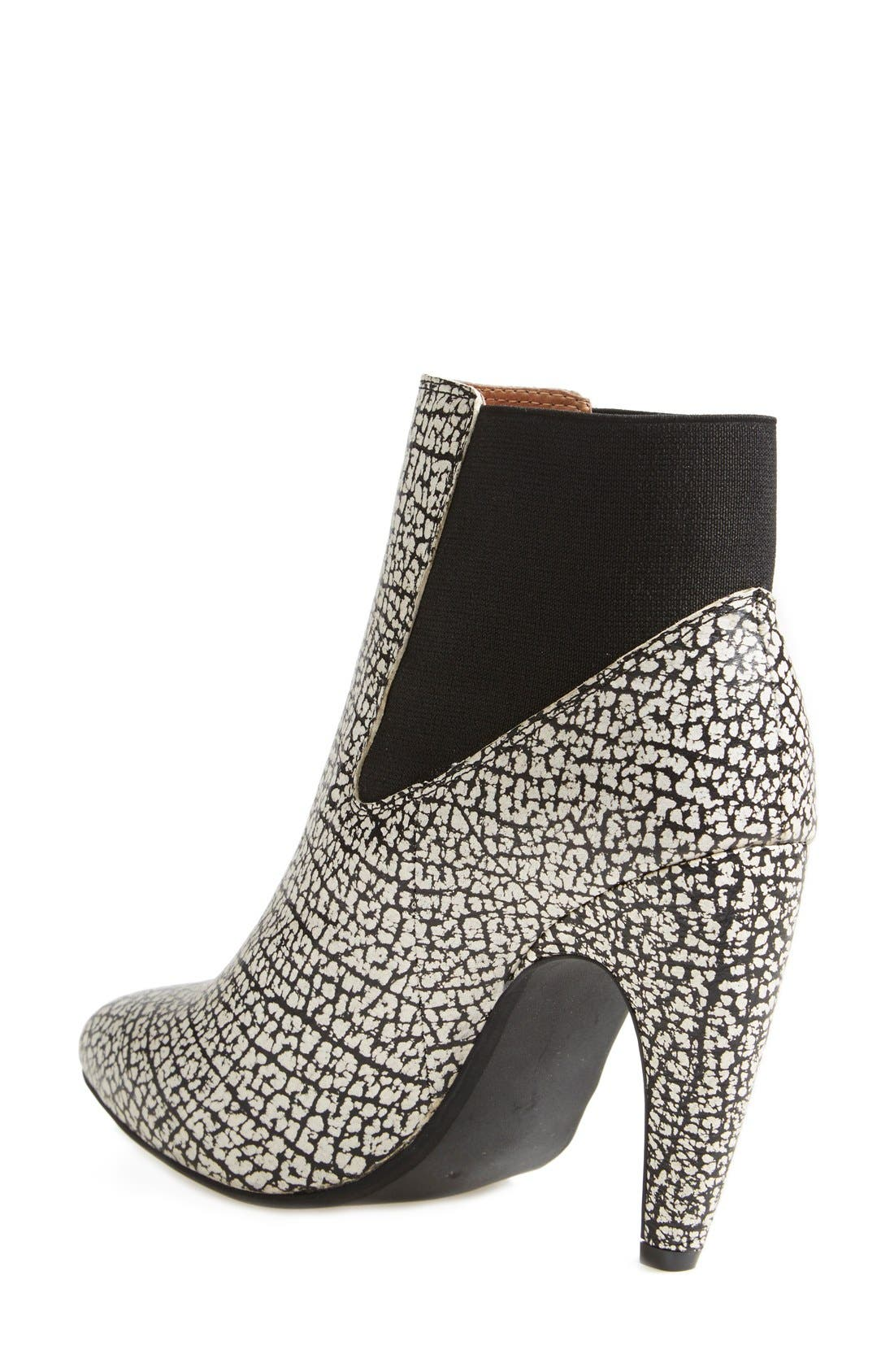 Alternate Image 2  - Jeffrey Campbell 'Calzino' Suede Bootie (Women)