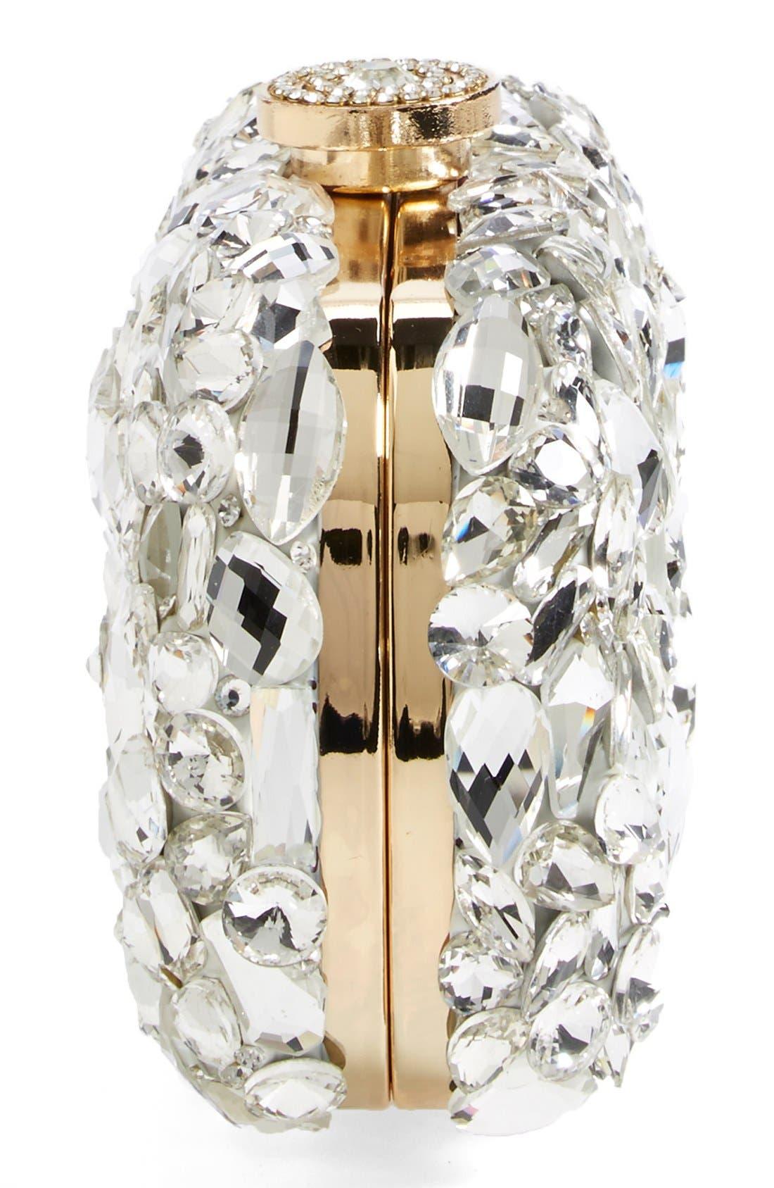 Alternate Image 5  - Natasha Couture 'Ice Crystal' Minaudiere