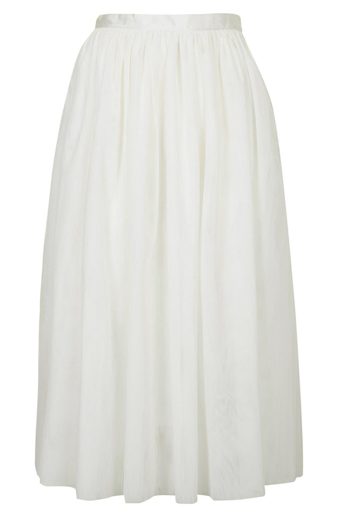 Alternate Image 3  - Topshop Ballerina Tulle Skirt