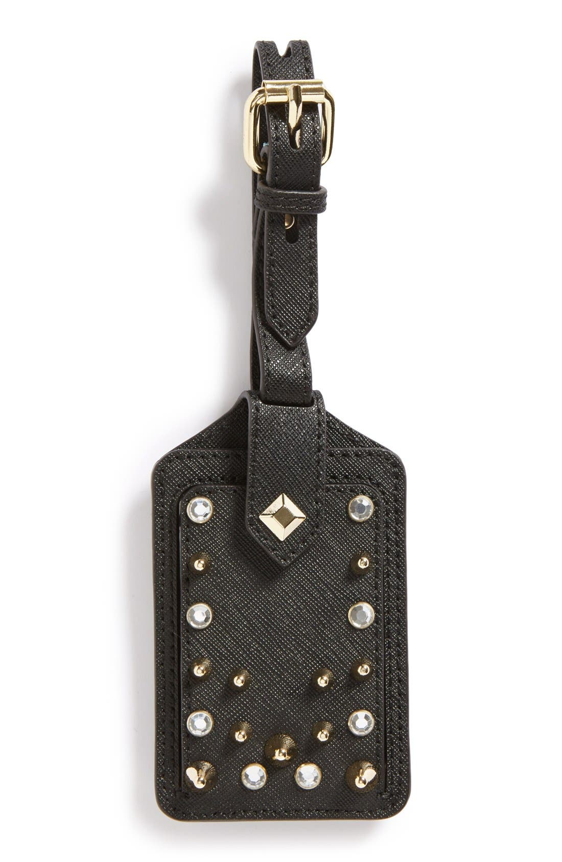 Alternate Image 1 Selected - Rebecca Minkoff Luggage Tag with Studs