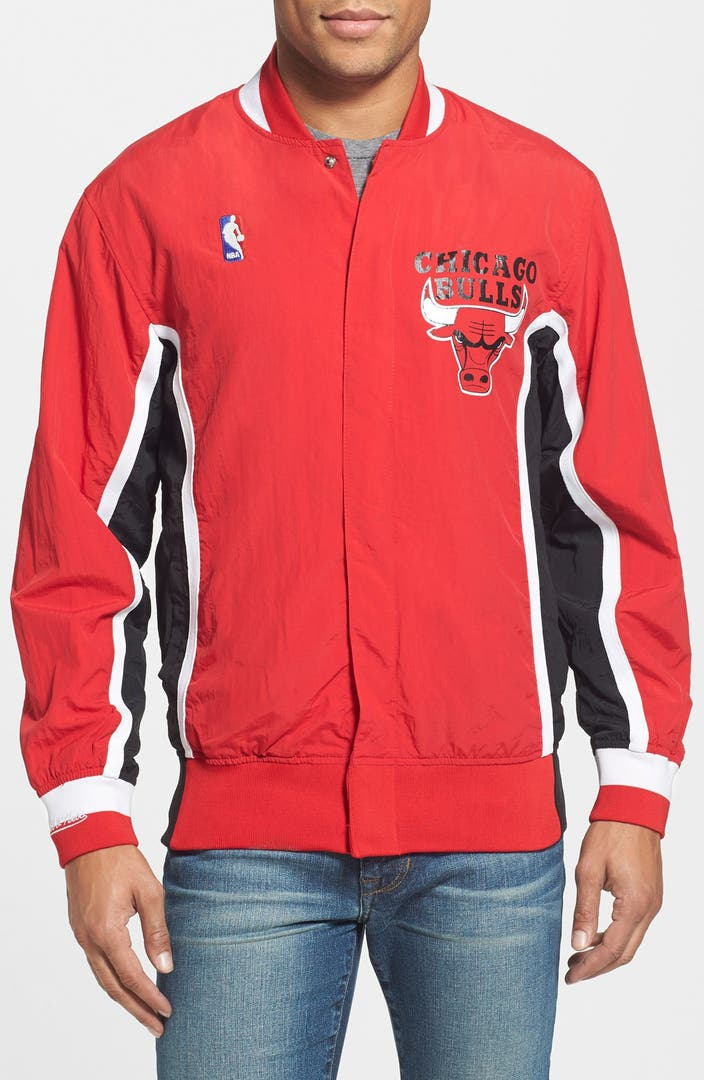 Mitchell Amp Ness Chicago Bulls Authentic Warm Up Jacket