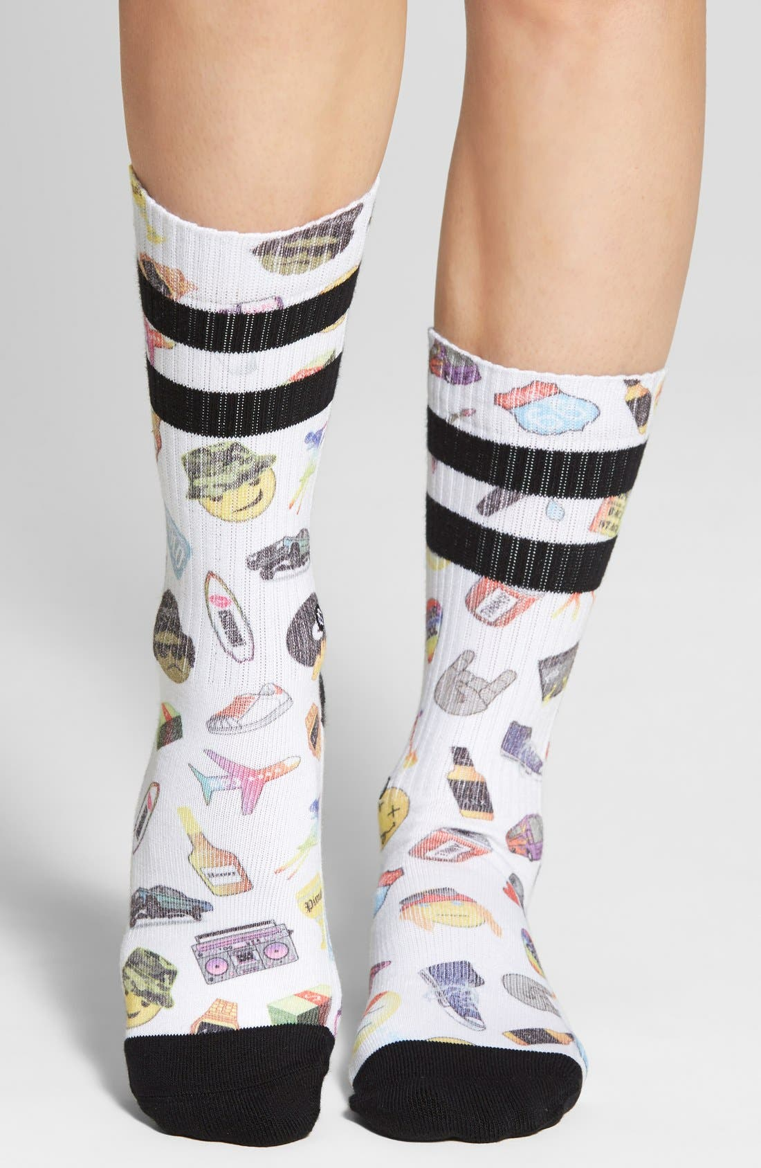 Alternate Image 3  - Stance 'Hip 'N Hop' Crew Socks