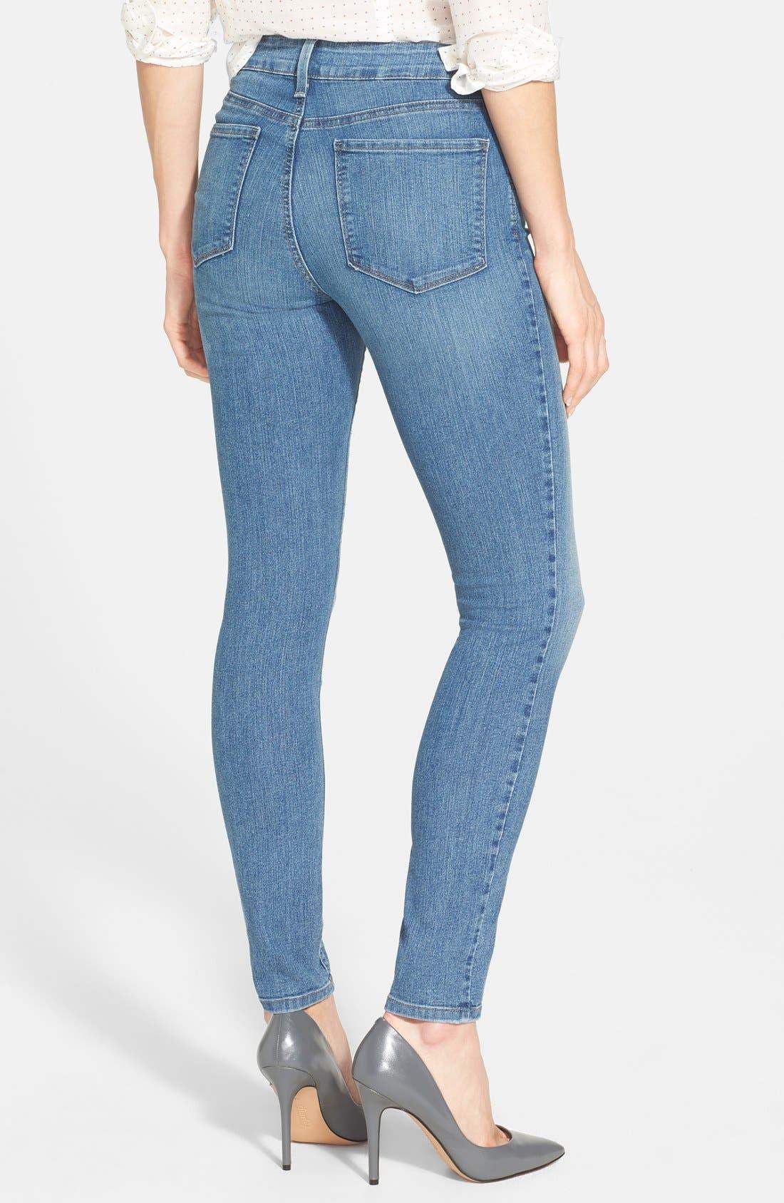 Alternate Image 2  - NYDJ 'Ami' Stretch Super Skinny Jeans (Bellevue)