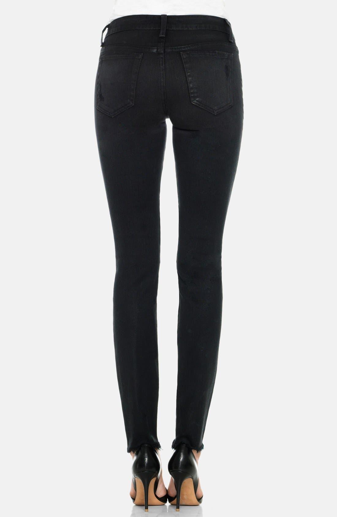 Alternate Image 2  - Joe's 'Finn' Destructed Skinny Ankle Jeans (Braelyn)