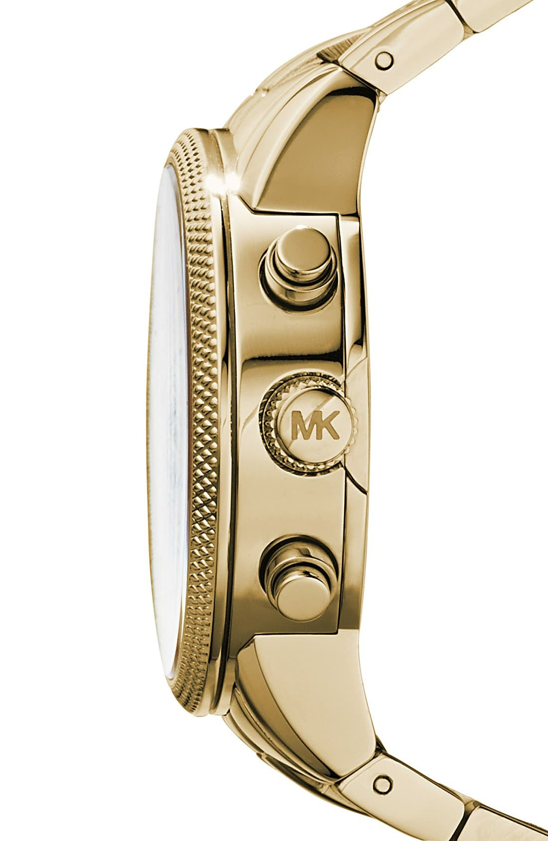 Alternate Image 3  - Michael Kors 'The Ritz' Chronograph Bracelet Watch, 36mm