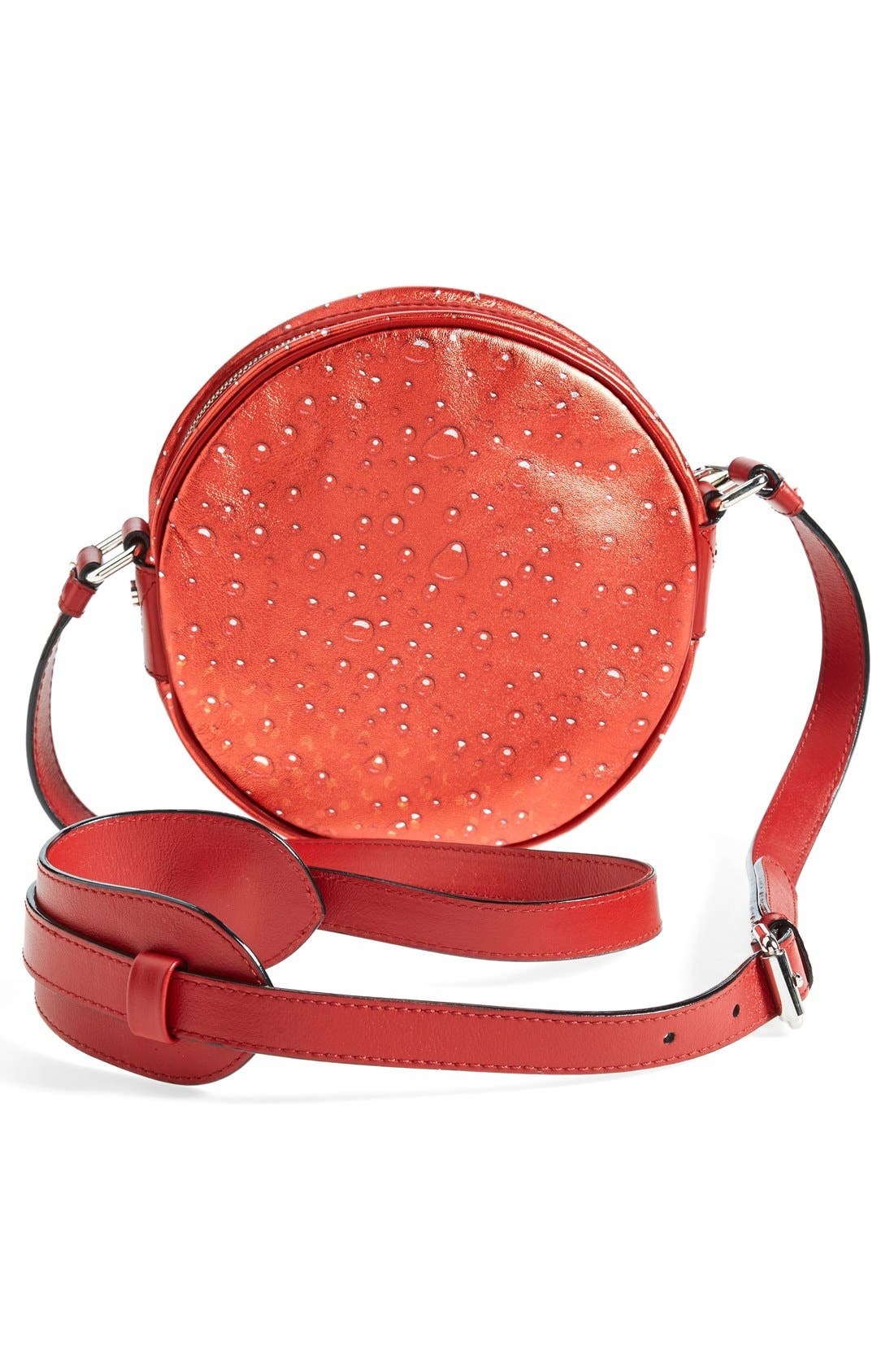 Alternate Image 6  - Moschino 'Drink Moschino' Laminated Leather Crossbody Bag