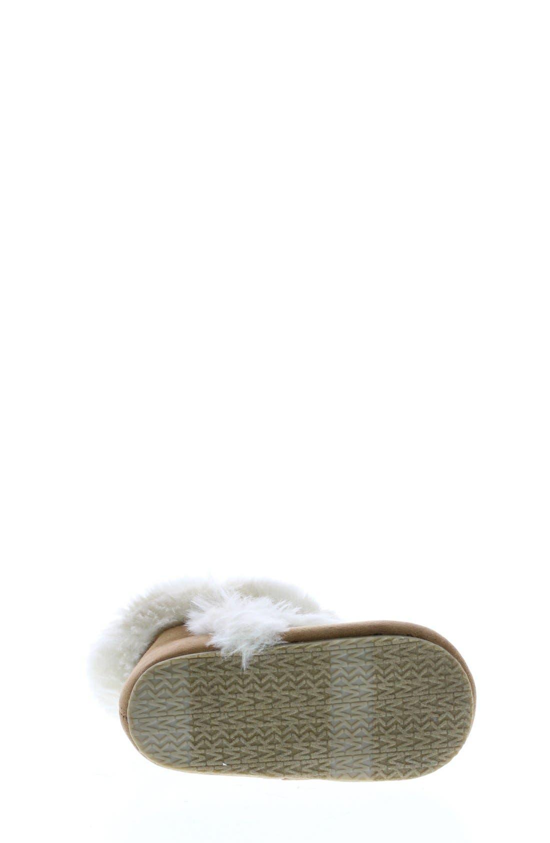 Alternate Image 5  - MICHAEL Michael Kors 'Grace' Boot (Baby)