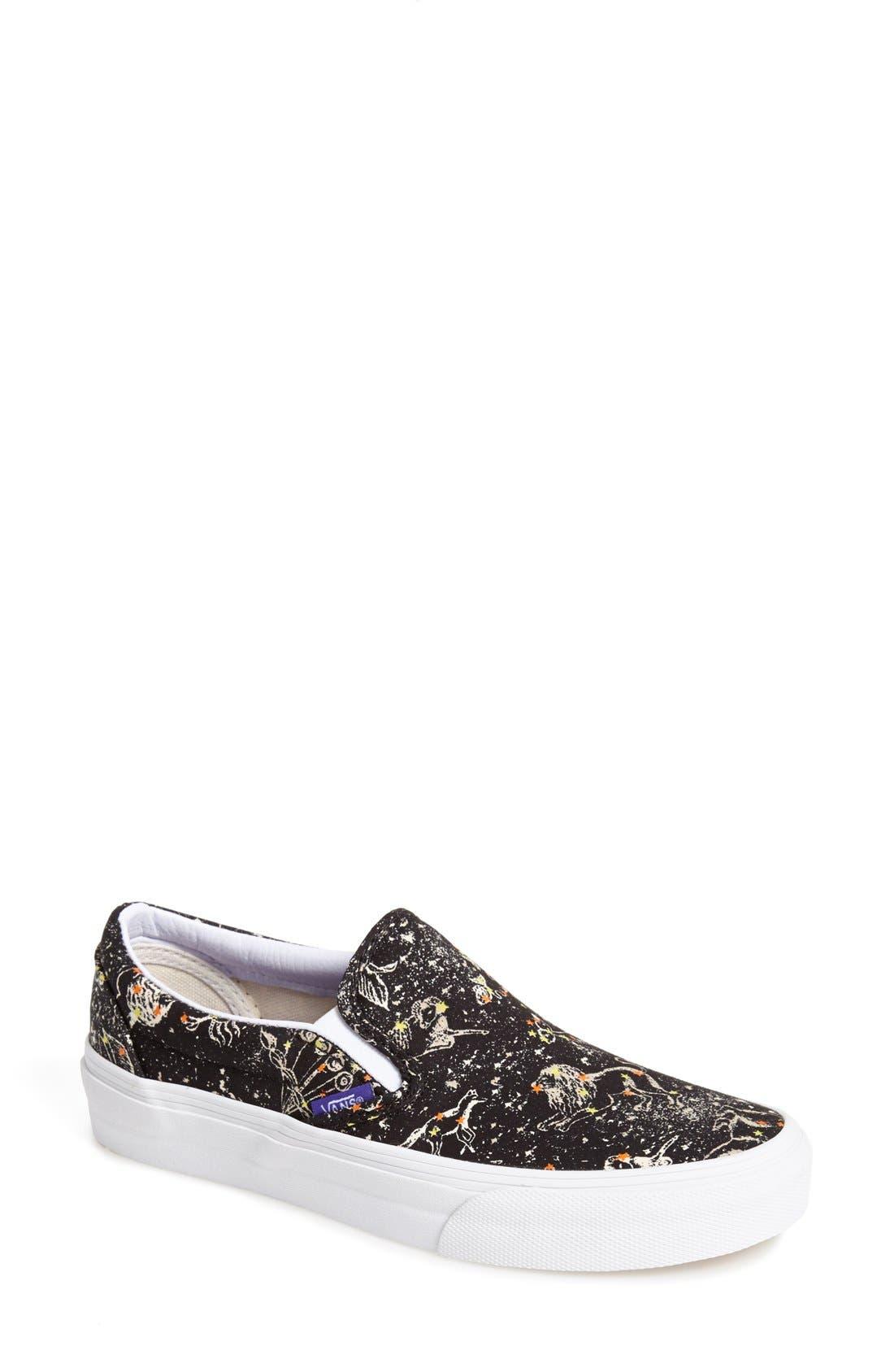 Alternate Image 1 Selected - Liberty x Vans 'Classic' Slip-On Sneaker (Women)