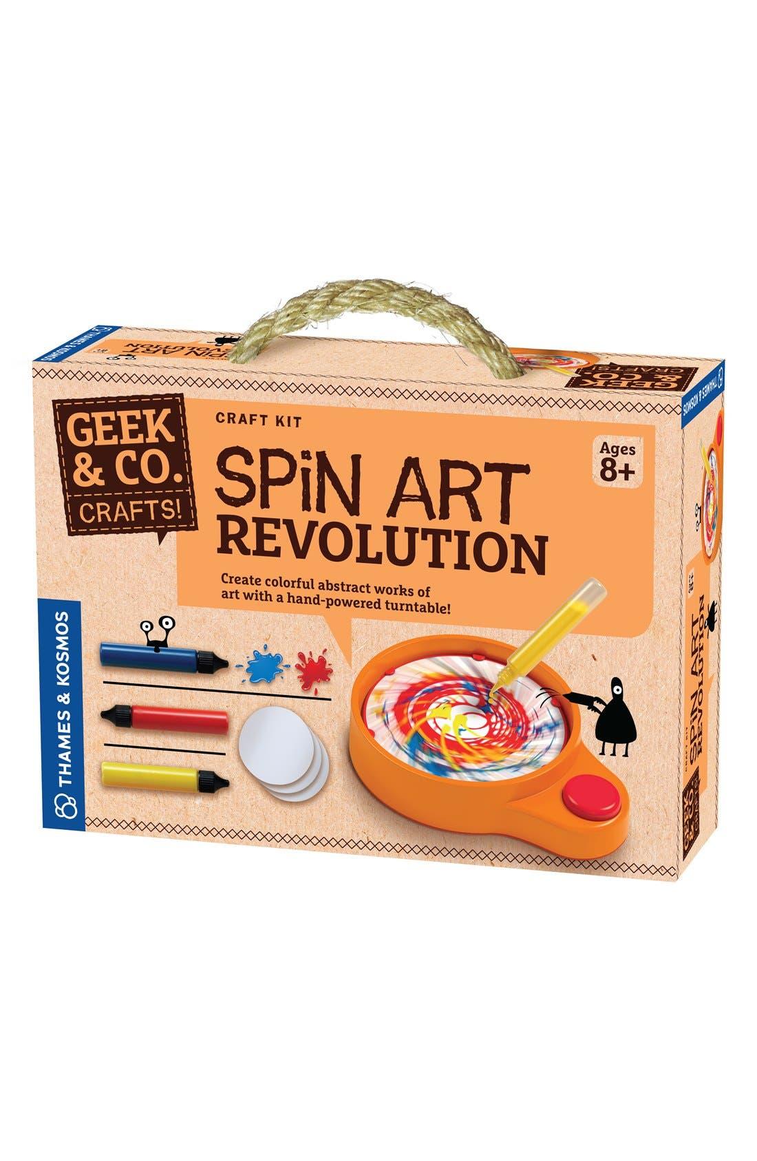 'Spin Art Revolution' Craft Kit,                             Main thumbnail 1, color,                             None