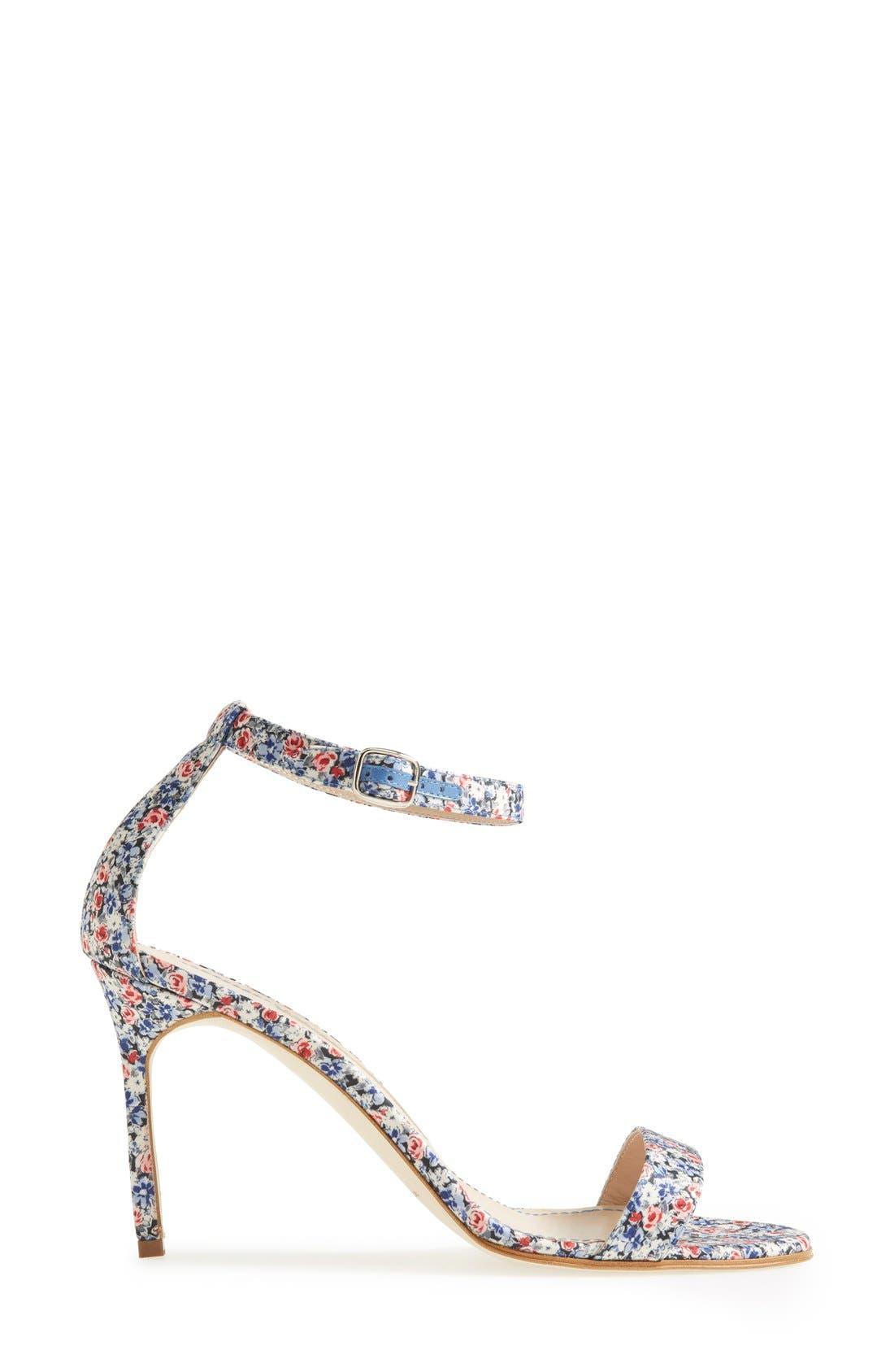 Alternate Image 4  - Manolo Blahnik 'Chaos' Ankle Strap Sandal (Women)