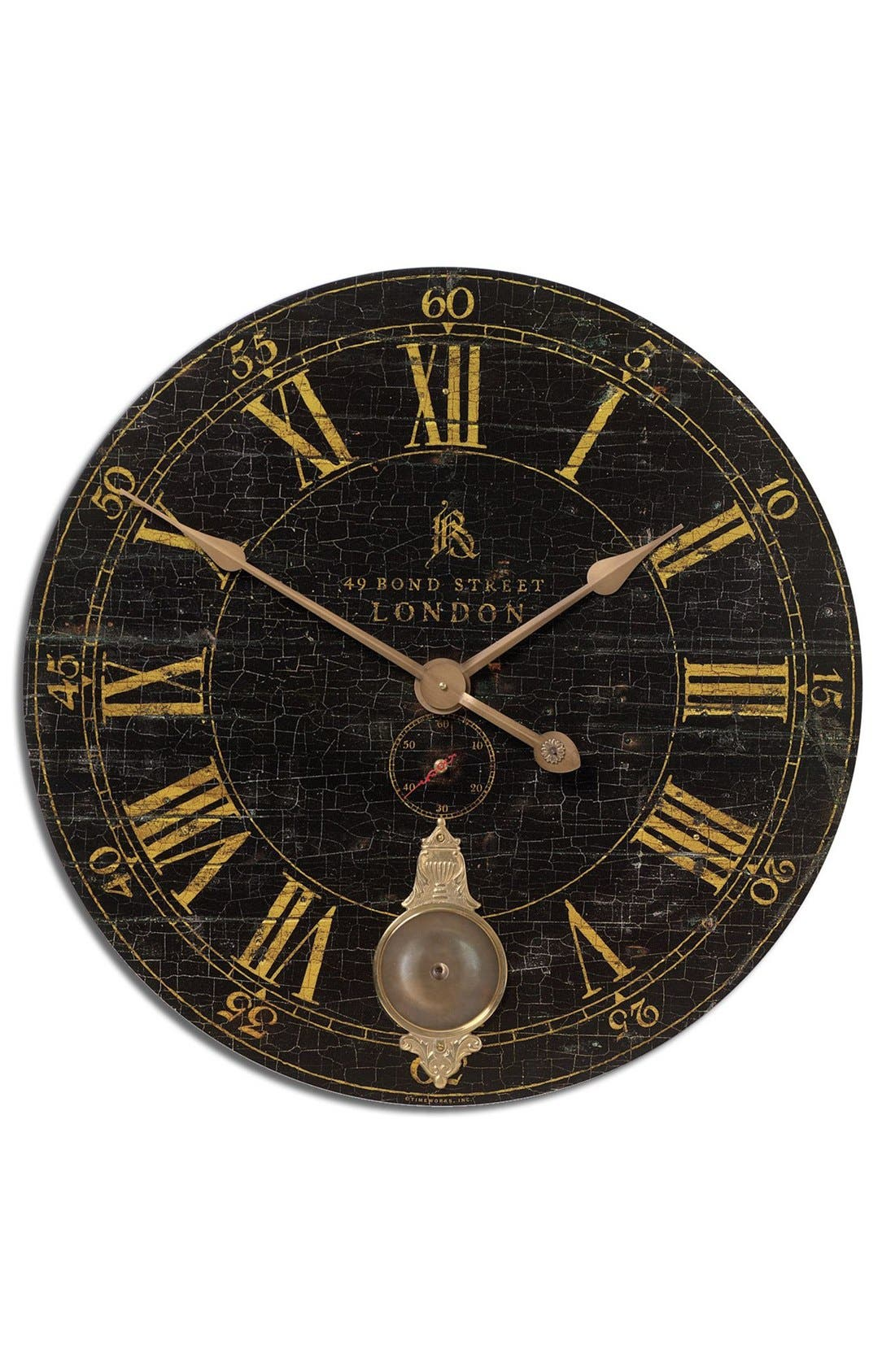 Alternate Image 1 Selected - Uttermost 'Bond Street' Wall Clock