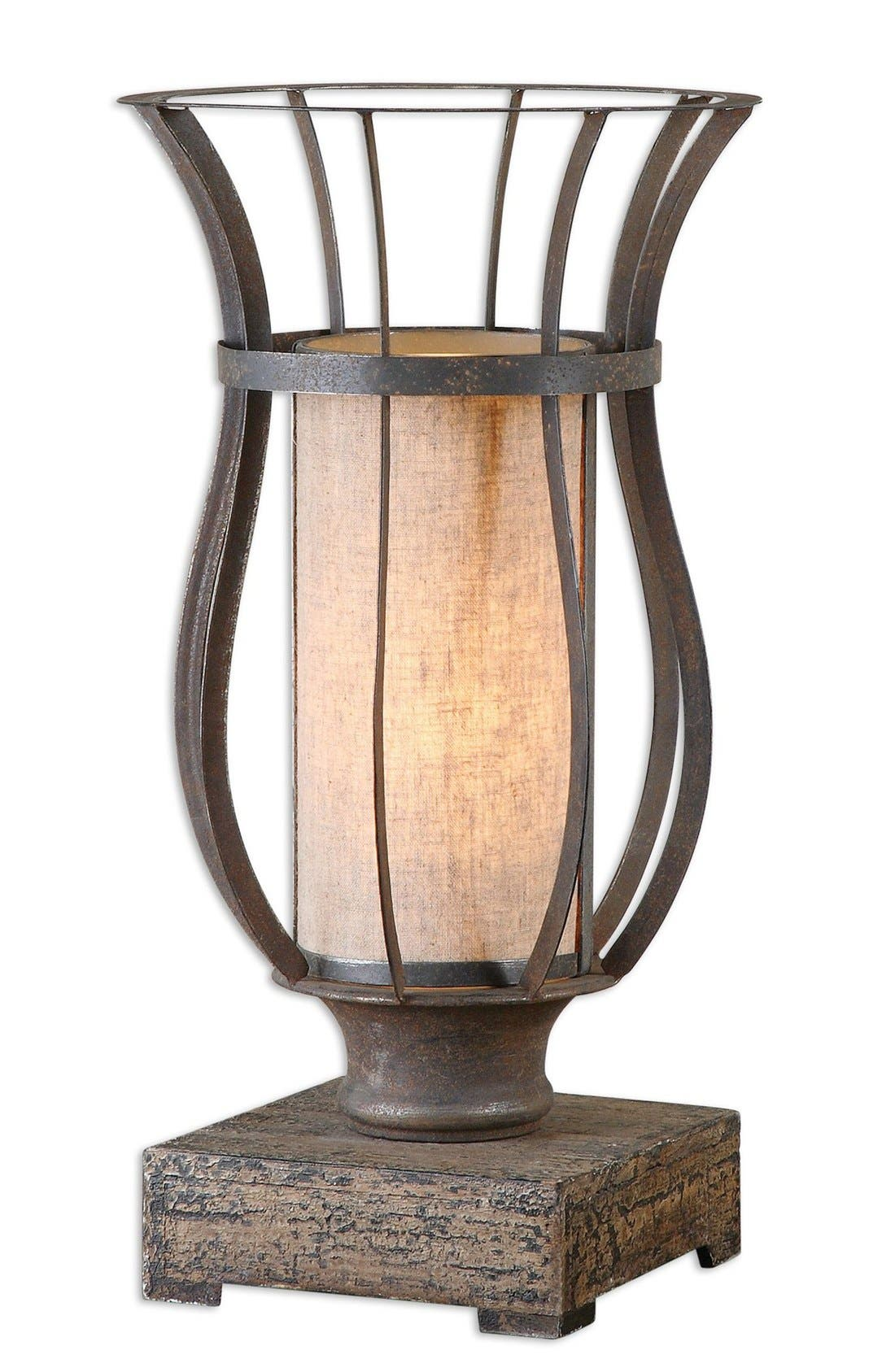 Alternate Image 1 Selected - Uttermost 'Minozzo' Bronze Lamp