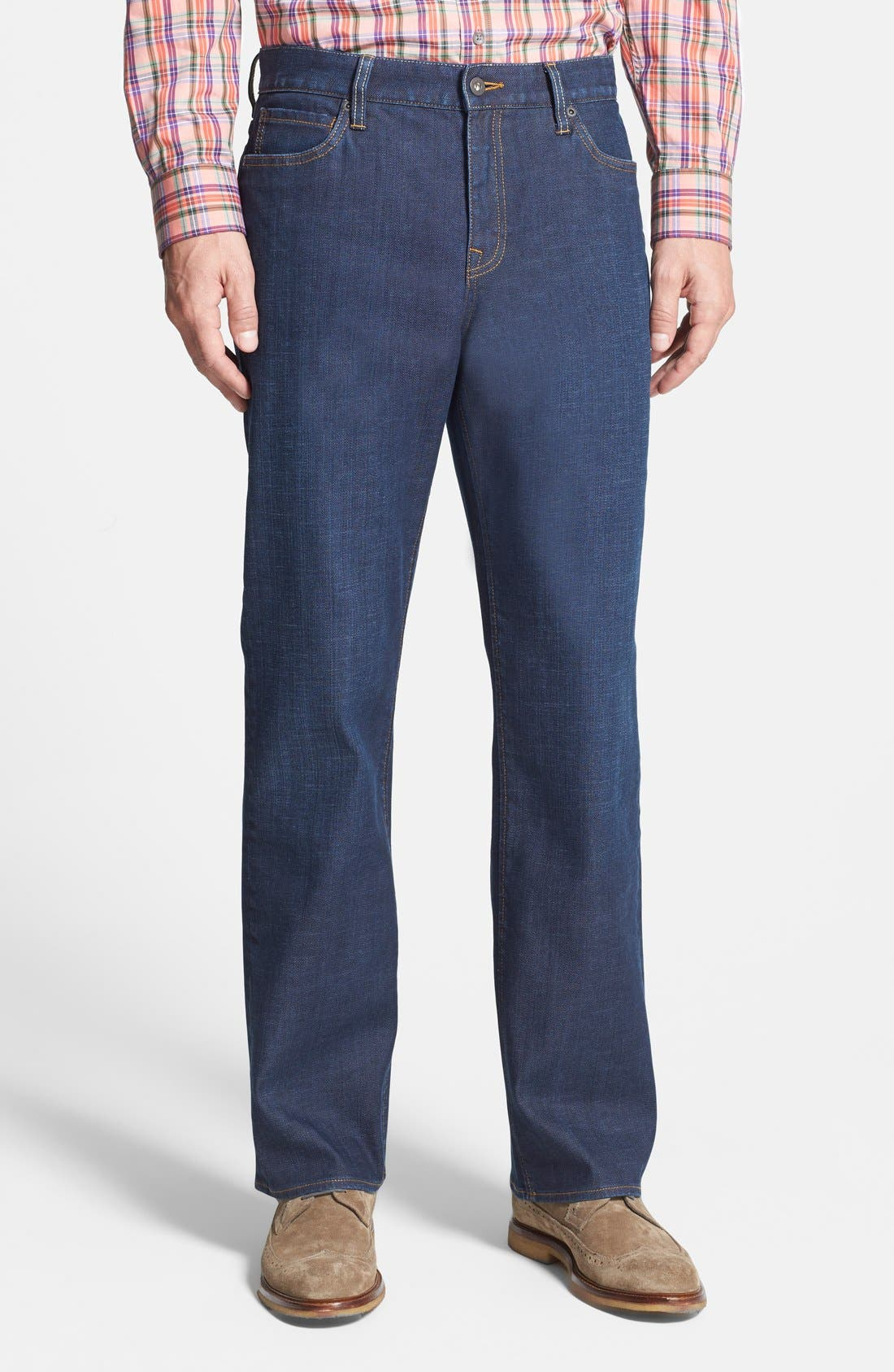 Greenwood Relaxed Fit Jeans,                             Main thumbnail 1, color,                             Venice Blue