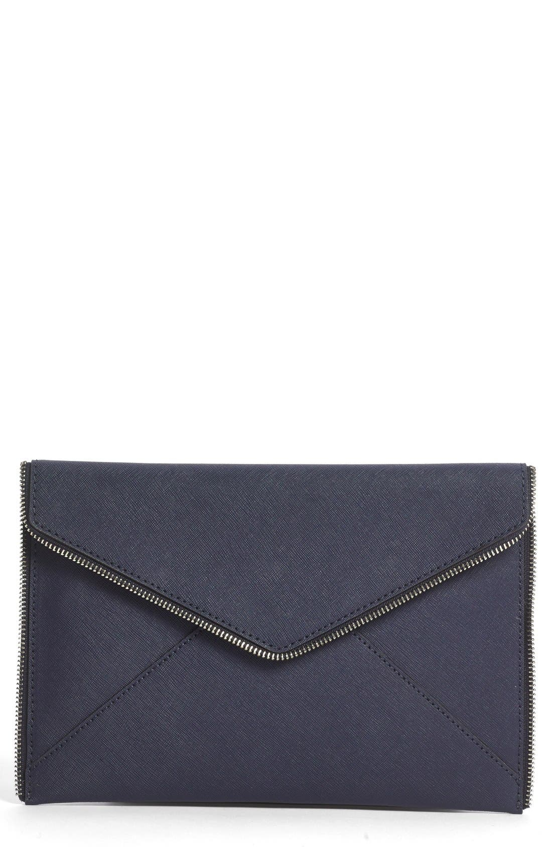 Alternate Image 1 Selected - Rebecca Minkoff 'Leo' Envelope Clutch