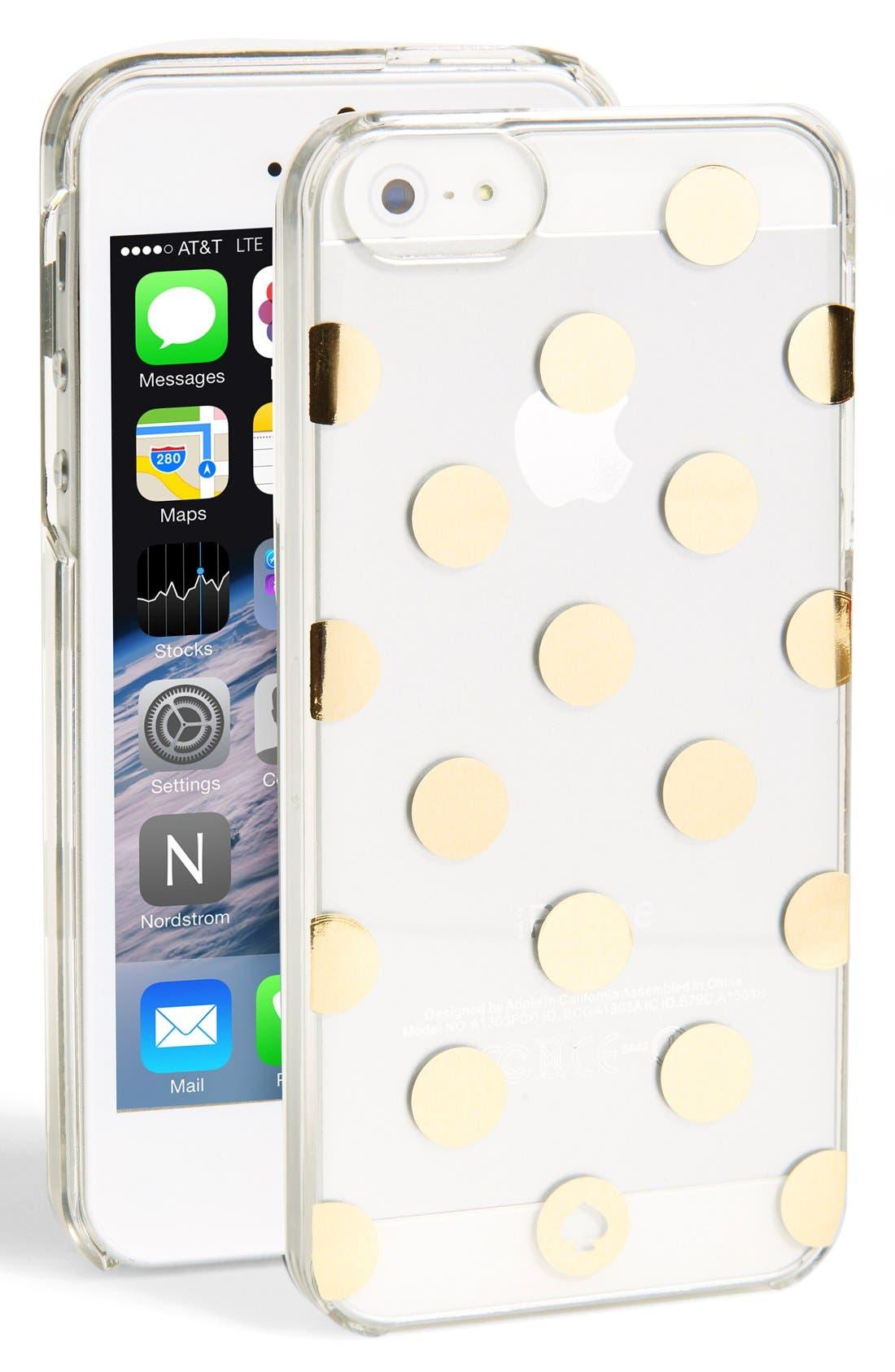 Alternate Image 1 Selected - kate spade new york 'le pavillion' iPhone 5 & 5s case
