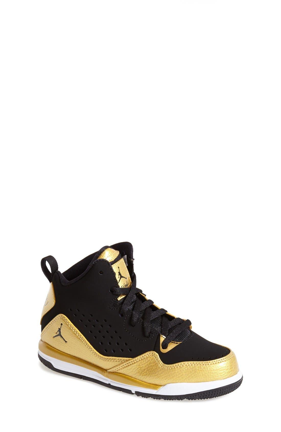 Alternate Image 1 Selected - Nike 'Jordan SC3' Basketball Shoe (Toddler & Little Kid)