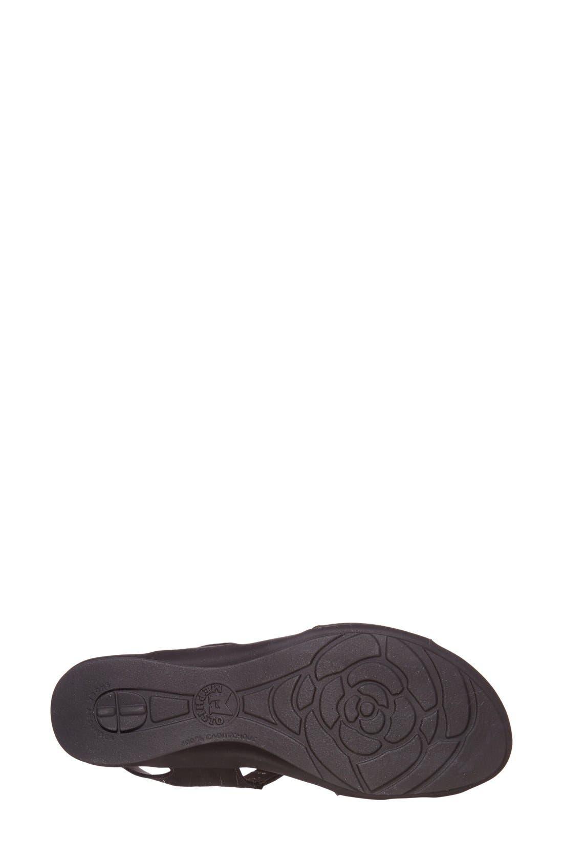 'Paris' Slingback Sandal,                             Alternate thumbnail 4, color,                             Pewter