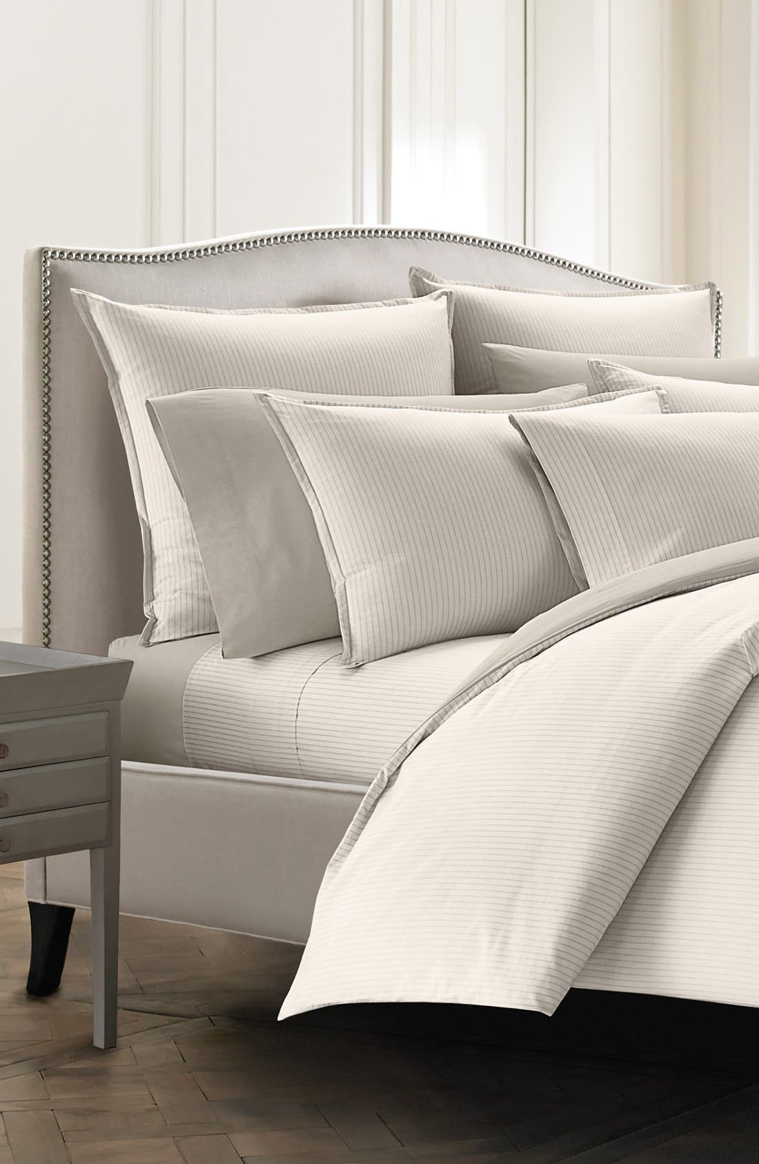 Ascott Duvet Cover,                         Main,                         color, Linen