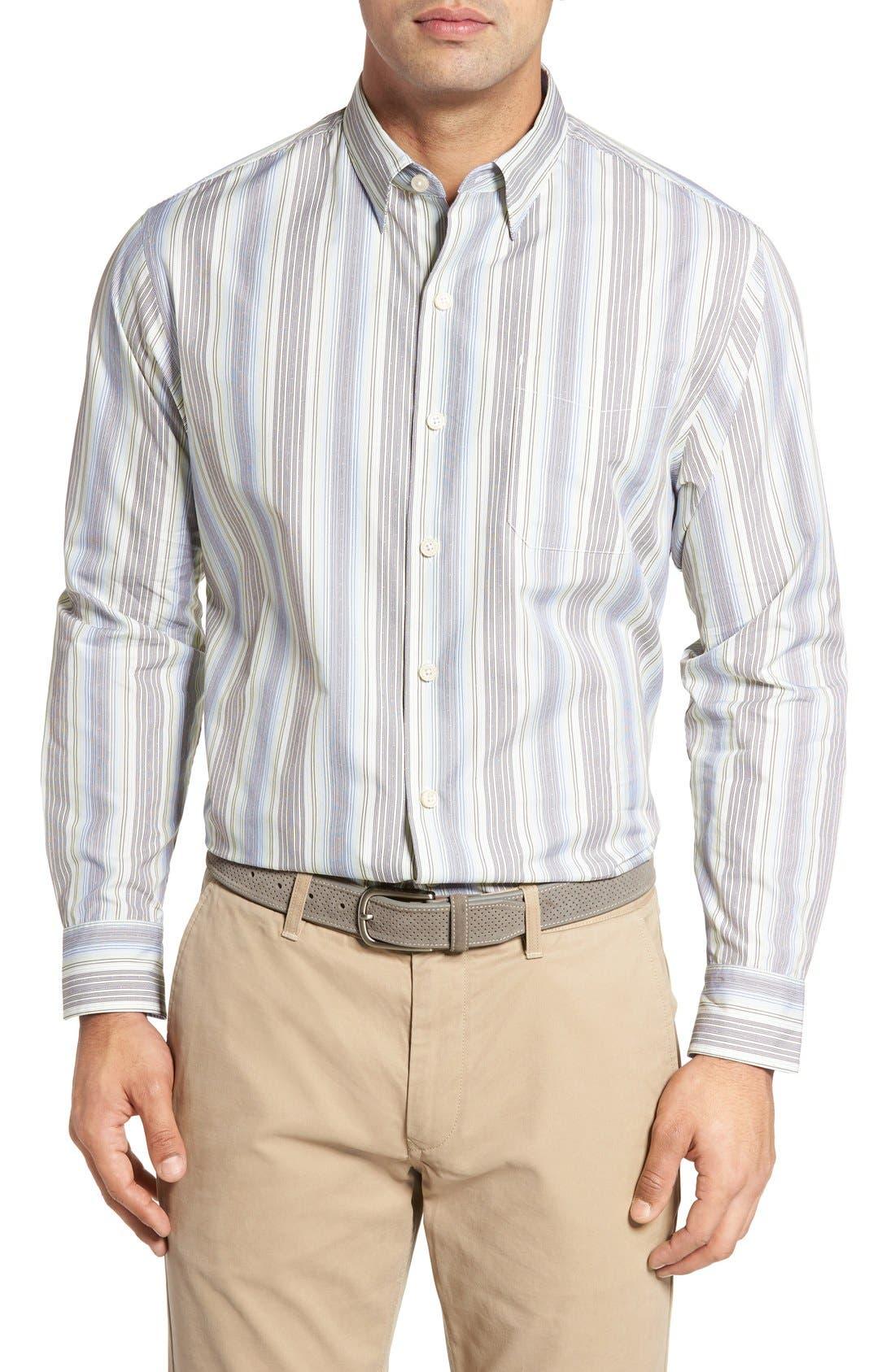 Roda Viva Original Fit Sport Shirt,                         Main,                         color, Banff Blue