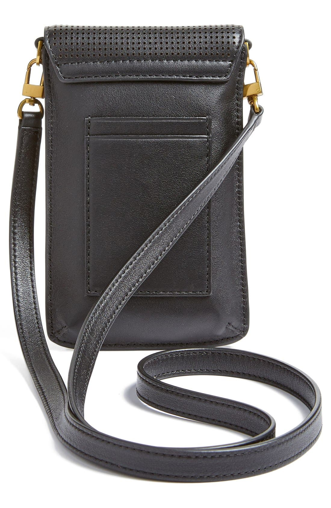 Alternate Image 2  - Tory Burch Perforated Leather Smartphone Crossbody Bag
