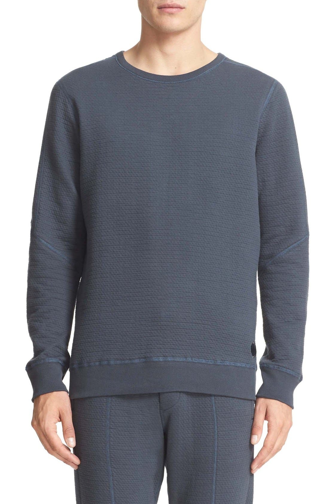wings + horns x adidas Cabin Fleece Crewneck Sweatshirt