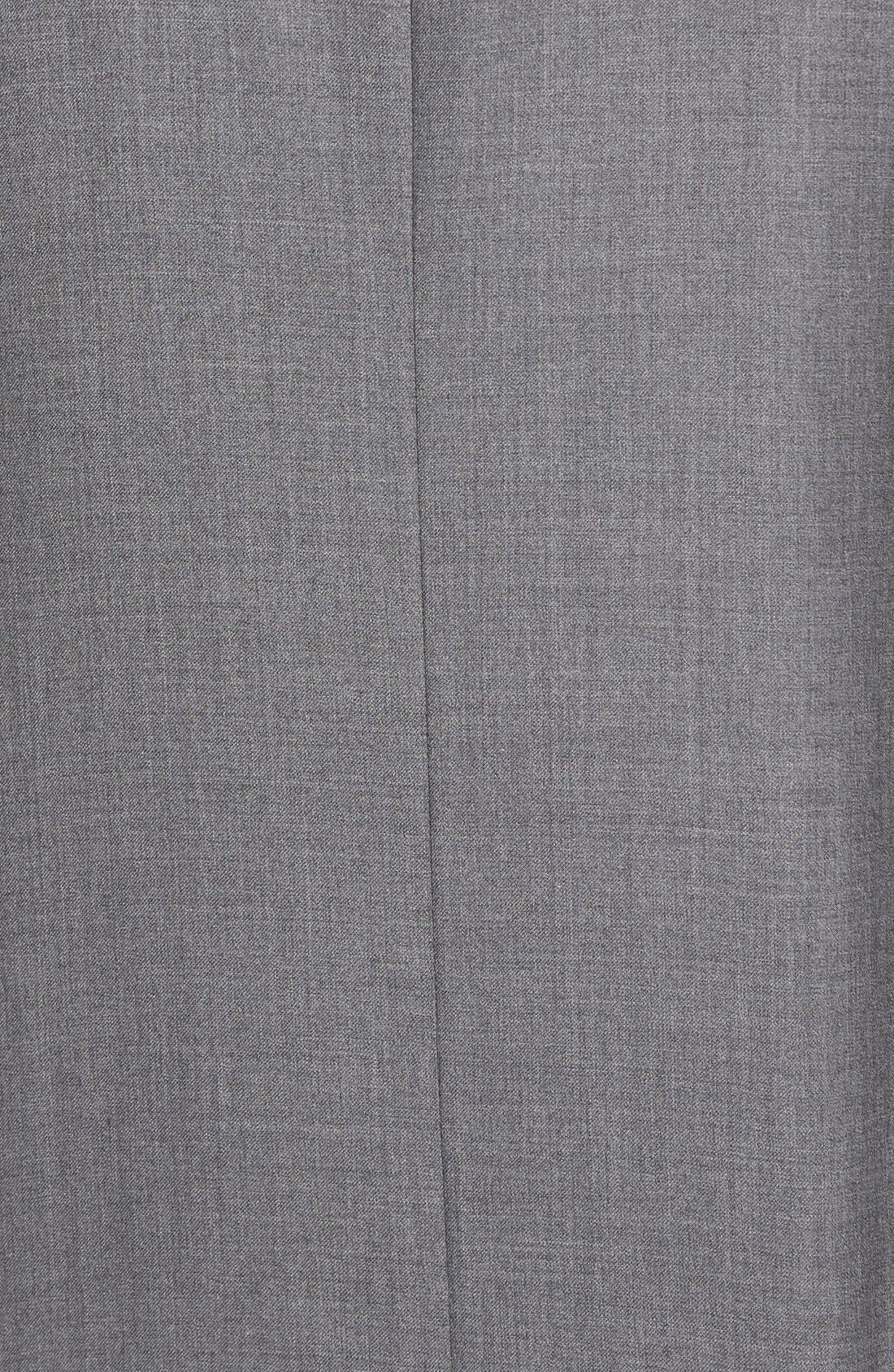 Espada Trim Fit Wool Blazer,                             Alternate thumbnail 4, color,                             Medium Grey