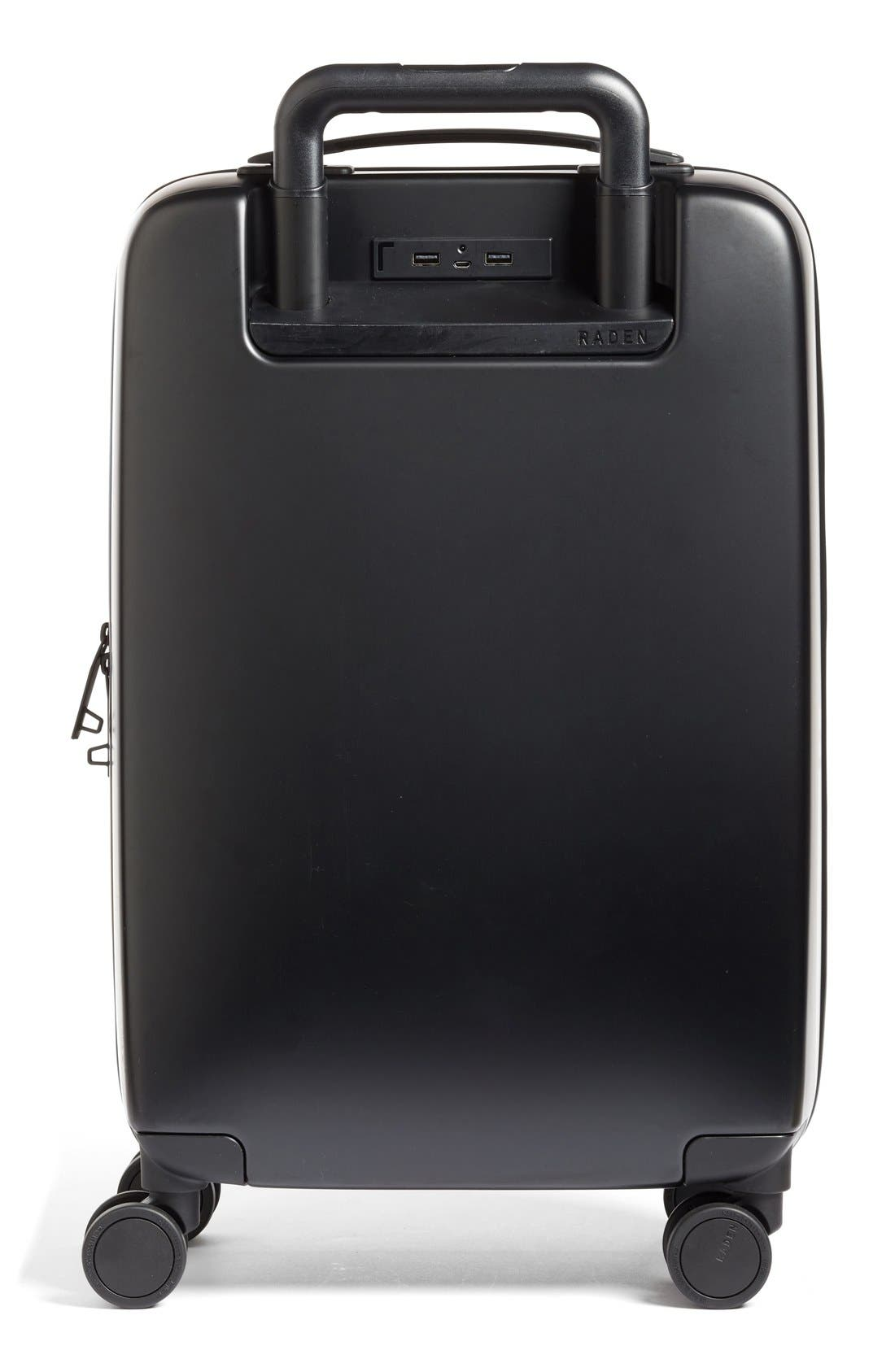 Raden The A22 22 Inch Charging Wheeled Carry-On Suitcase