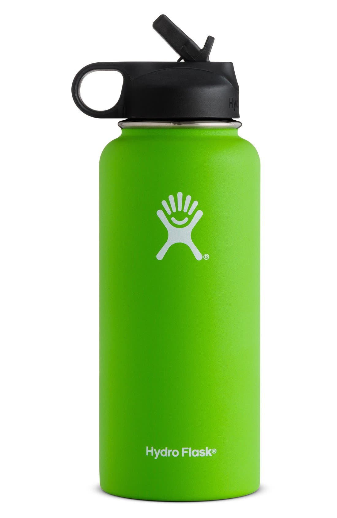 Alternate Image 1 Selected - Hydro Flask 32-Ounce Wide Mouth Bottle with Straw Lid