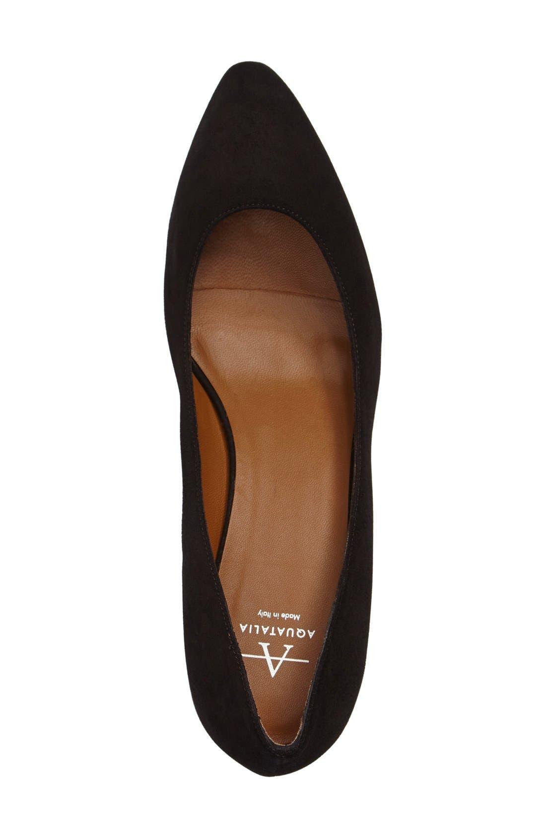 Alternate Image 3  - Aquatalia 'Pheobe' Weatherproof Almond Toe Pump (Women)