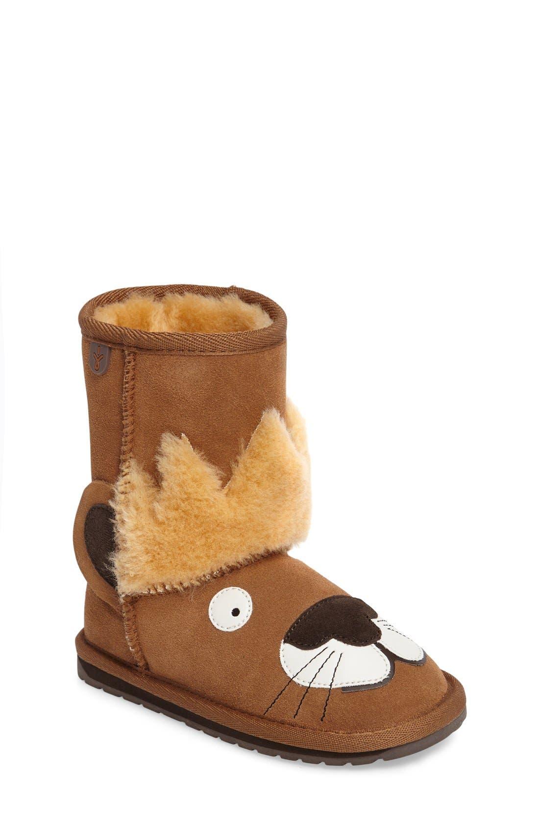 EMU Australia Little Creatures - Leo Lion Boot (Toddler, Little Kid & Big Kid)