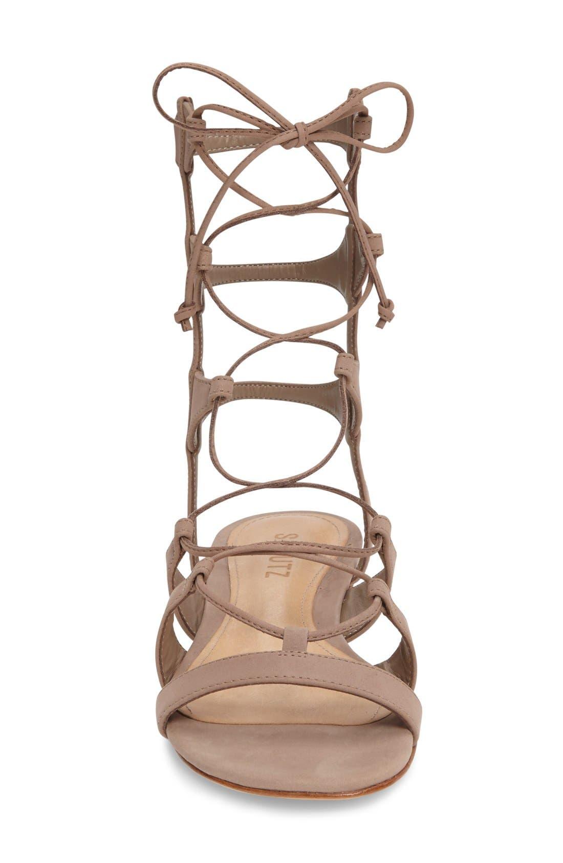 Alternate Image 3  - Schutz Erlina Lace-Up Sandal (Women)