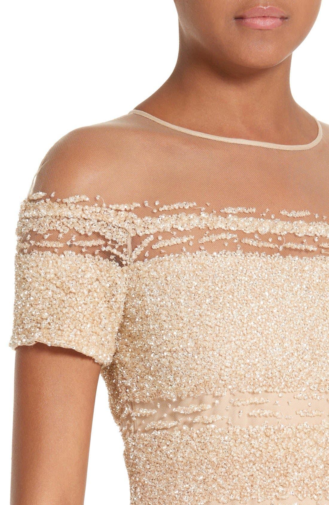 Alternate Image 5  - Pamella Roland Signature Sequin Column Gown