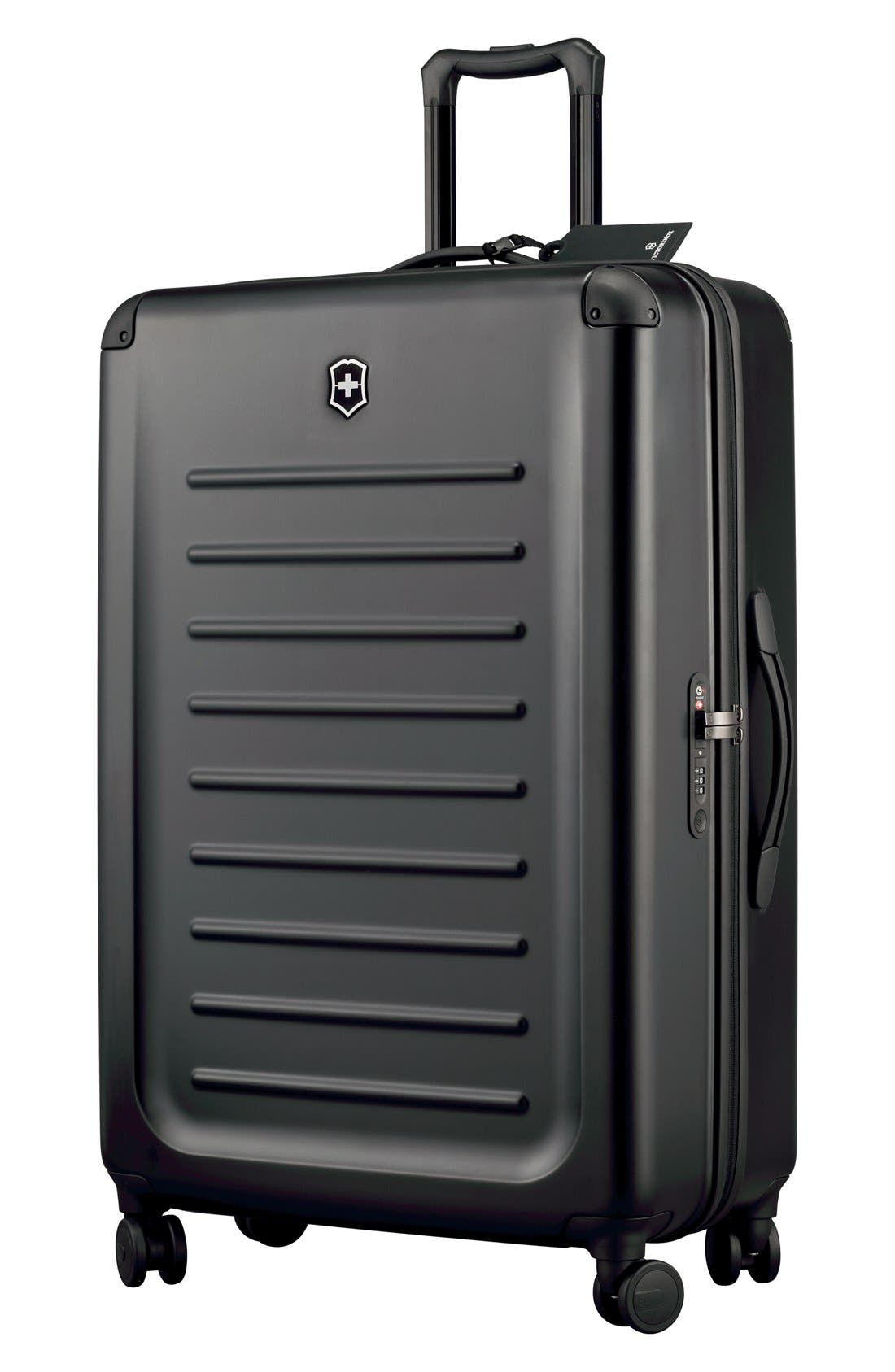 Spectra 2.0 Hard Sided Rolling 32-Inch Travel Suitcase,                         Main,                         color, Black