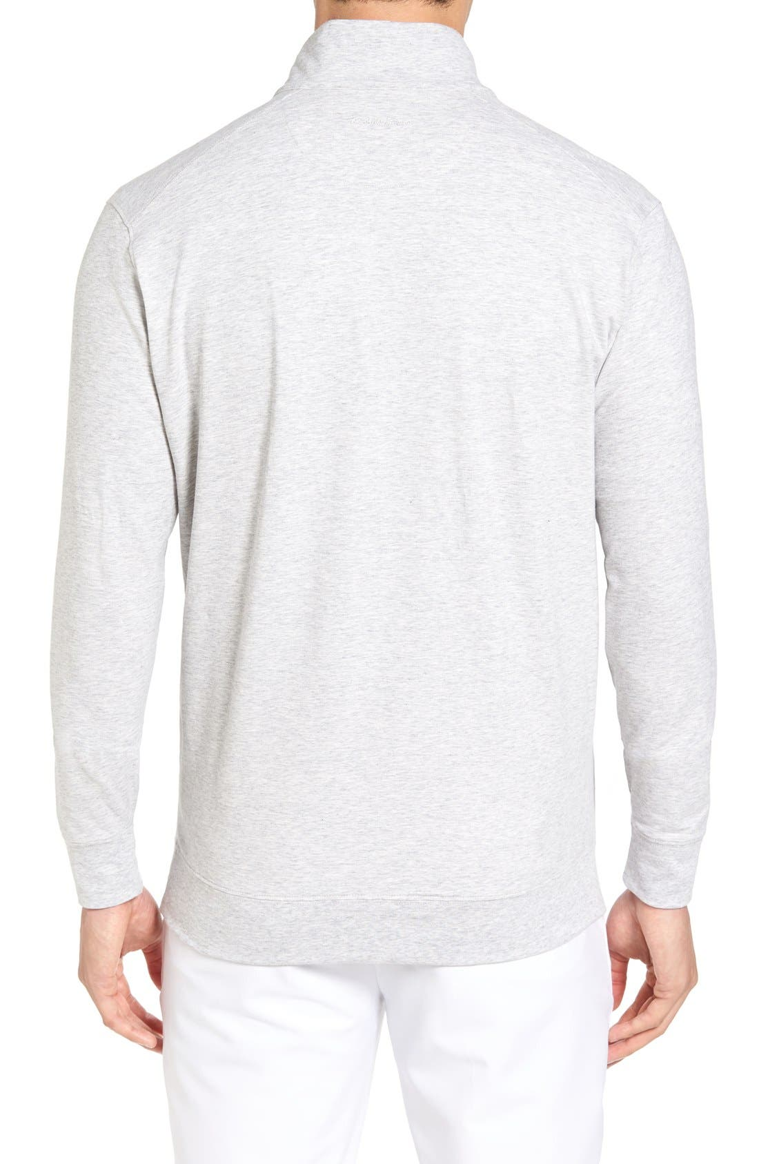 Alternate Image 2  - Bobby Jones PTO Liquid Stretch Quarter Zip Pullover
