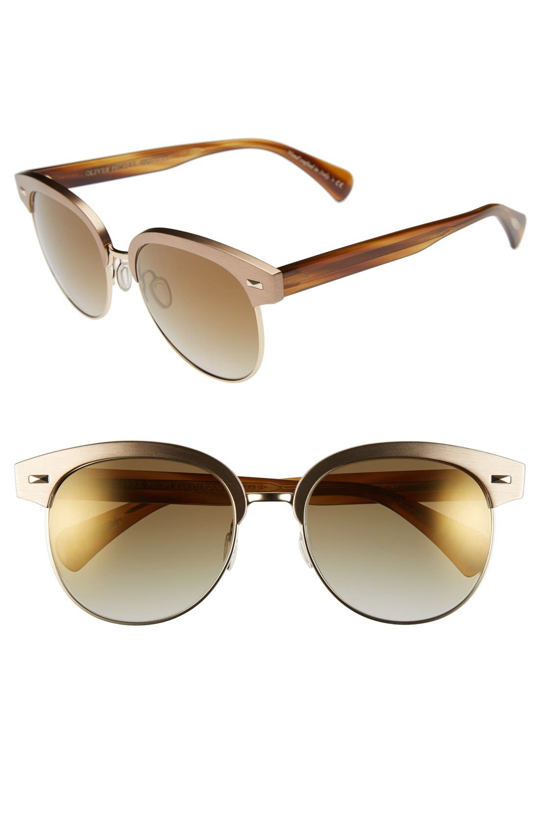 Alternate Image 1 Selected - Oliver Peoples 'Shaelie' 55mm Sunglasses
