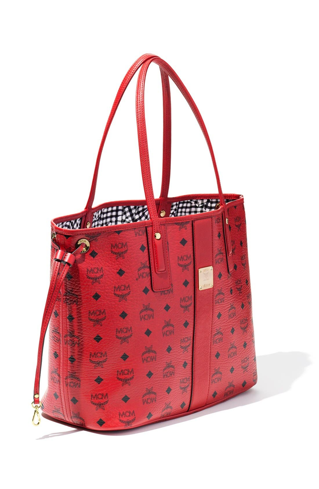 Alternate Image 7  - MCM Medium Liz Reversible Shopper
