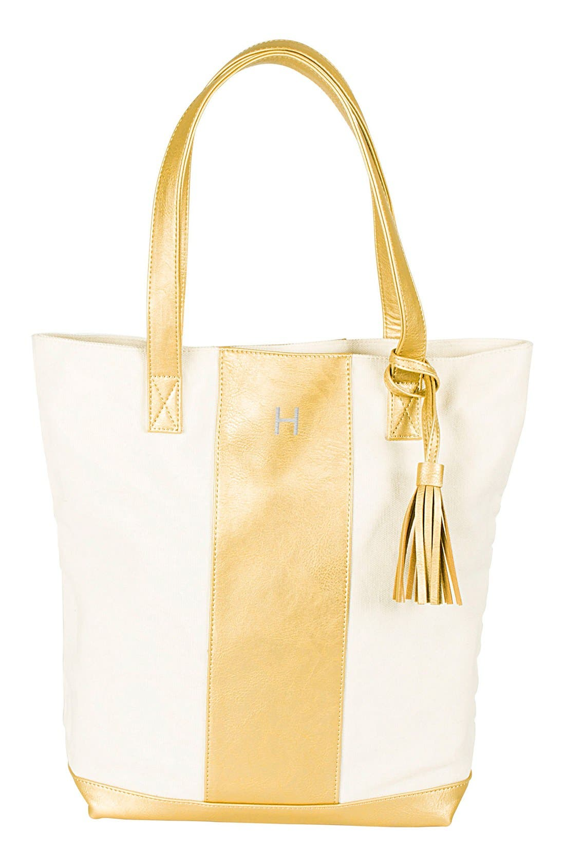 Main Image - Cathy's Concepts Monogram Tote