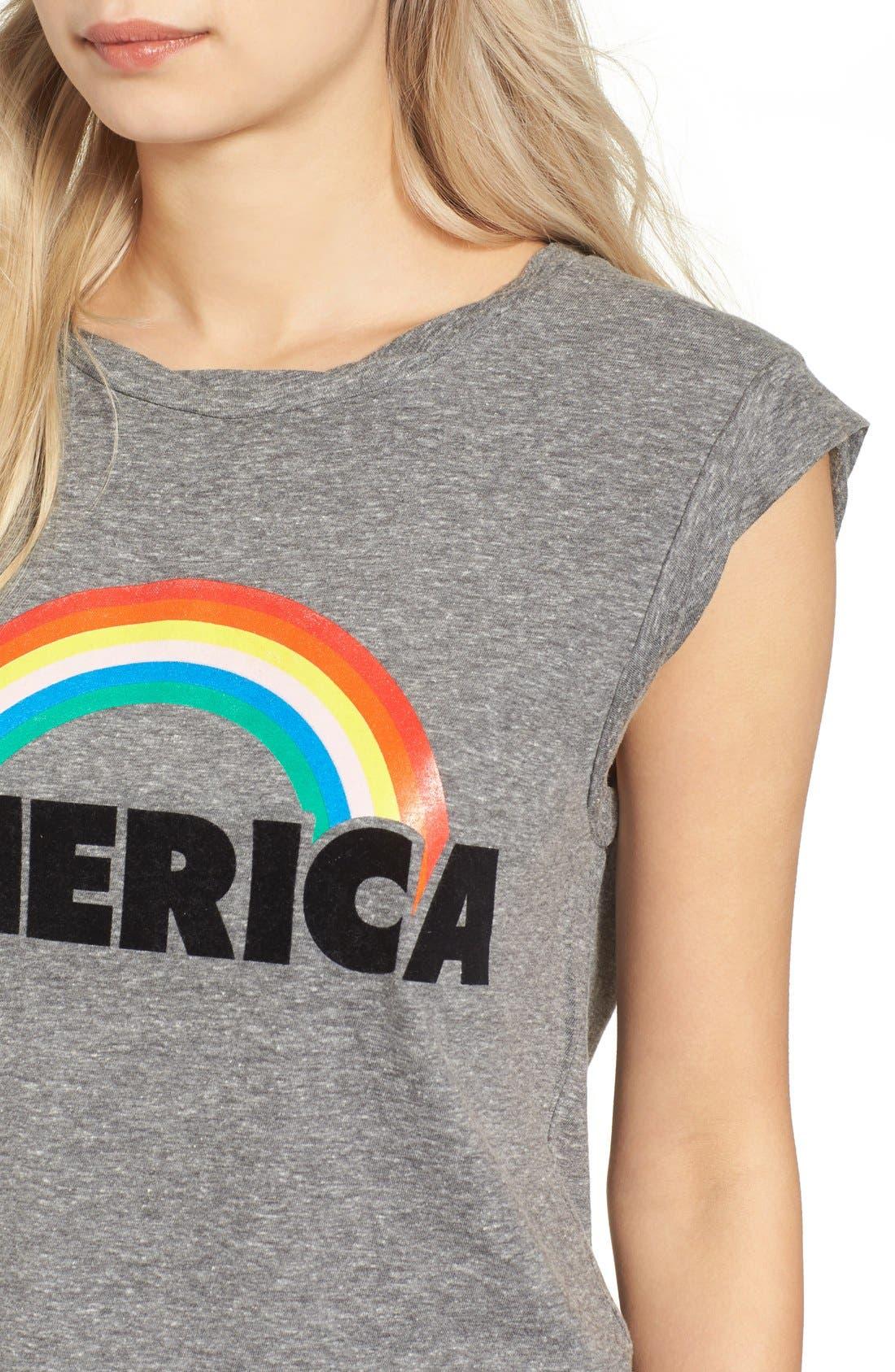 Alternate Image 4  - Pam & Gela Frankie America Muscle Tee