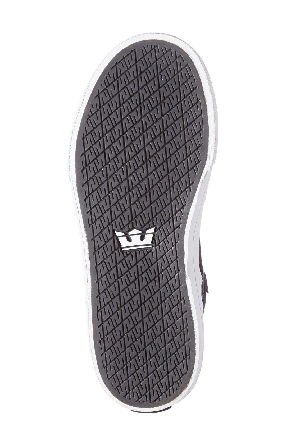 Alternate Image 4  - Supra 'Vaider' High Top Sneaker (Walker, Toddler, Little Kid & Big Kid)