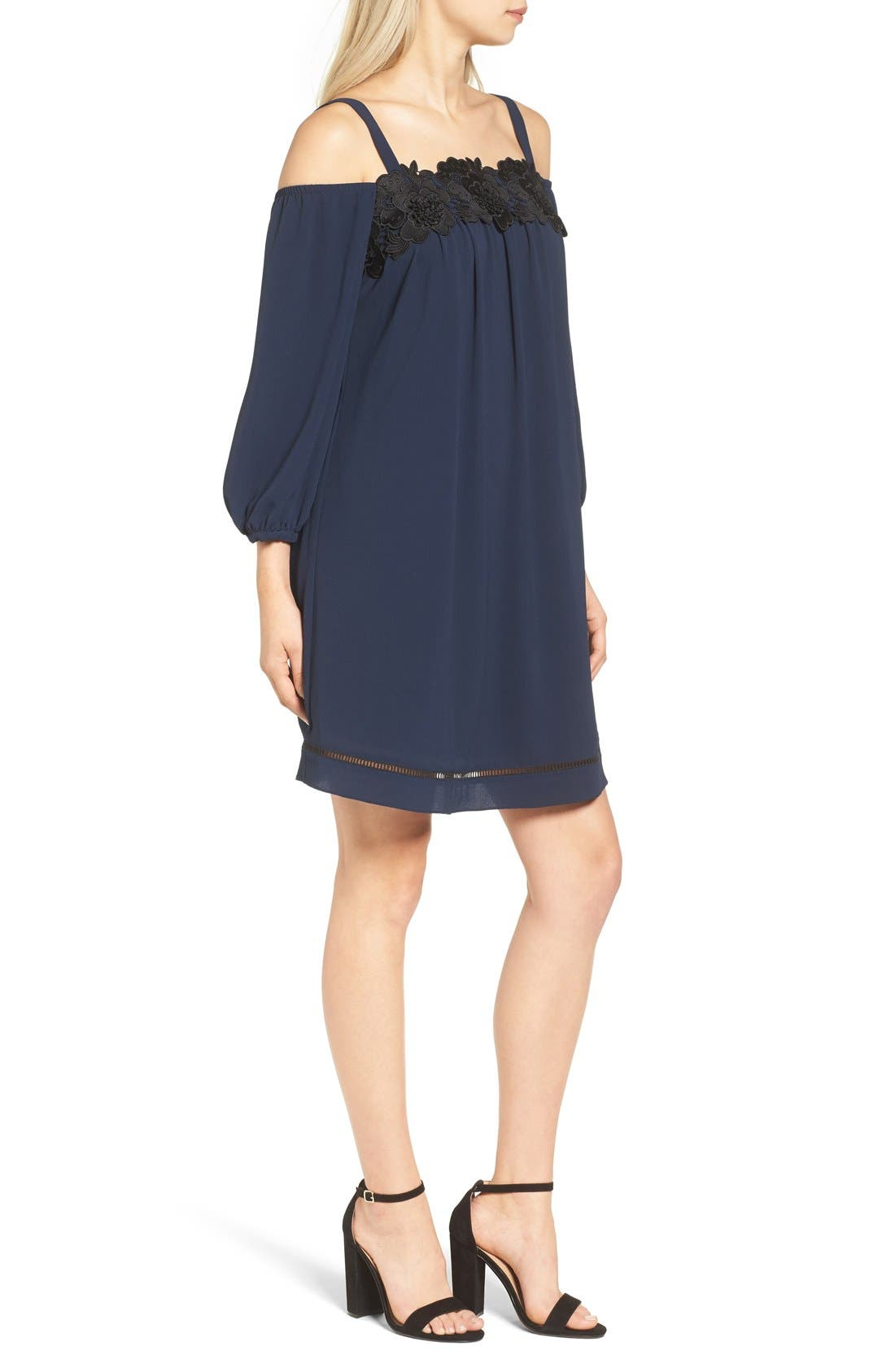 Alternate Image 4  - Chelsea28 Cold Shoulder Dress