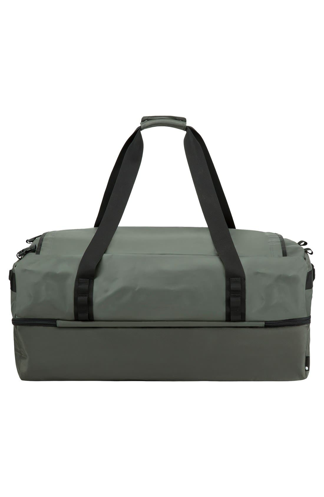 TRACTO Large Split Convertible Duffel Bag,                             Alternate thumbnail 2, color,                             Anthracite