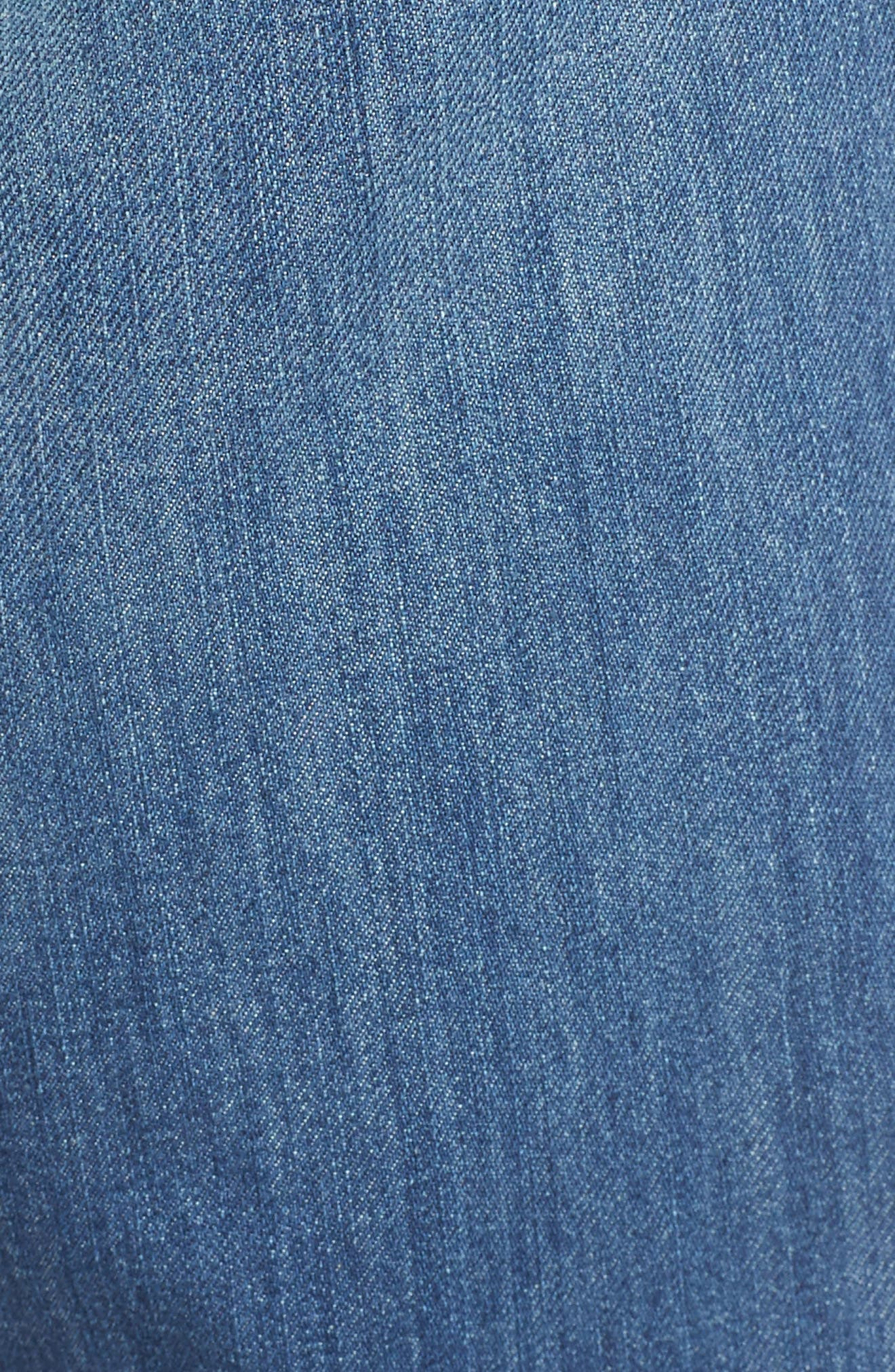 Barbados Straight Leg Jeans,                             Alternate thumbnail 5, color,                             Light Indigo Wash