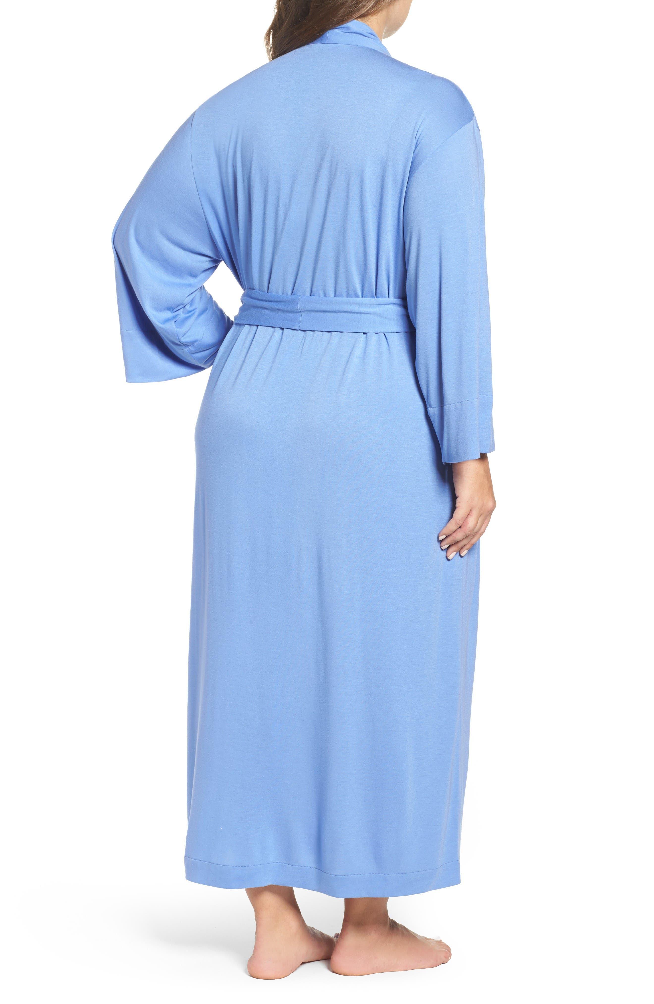 Alternate Image 2  - Natori 'Shangri-La' Robe (Plus Size)