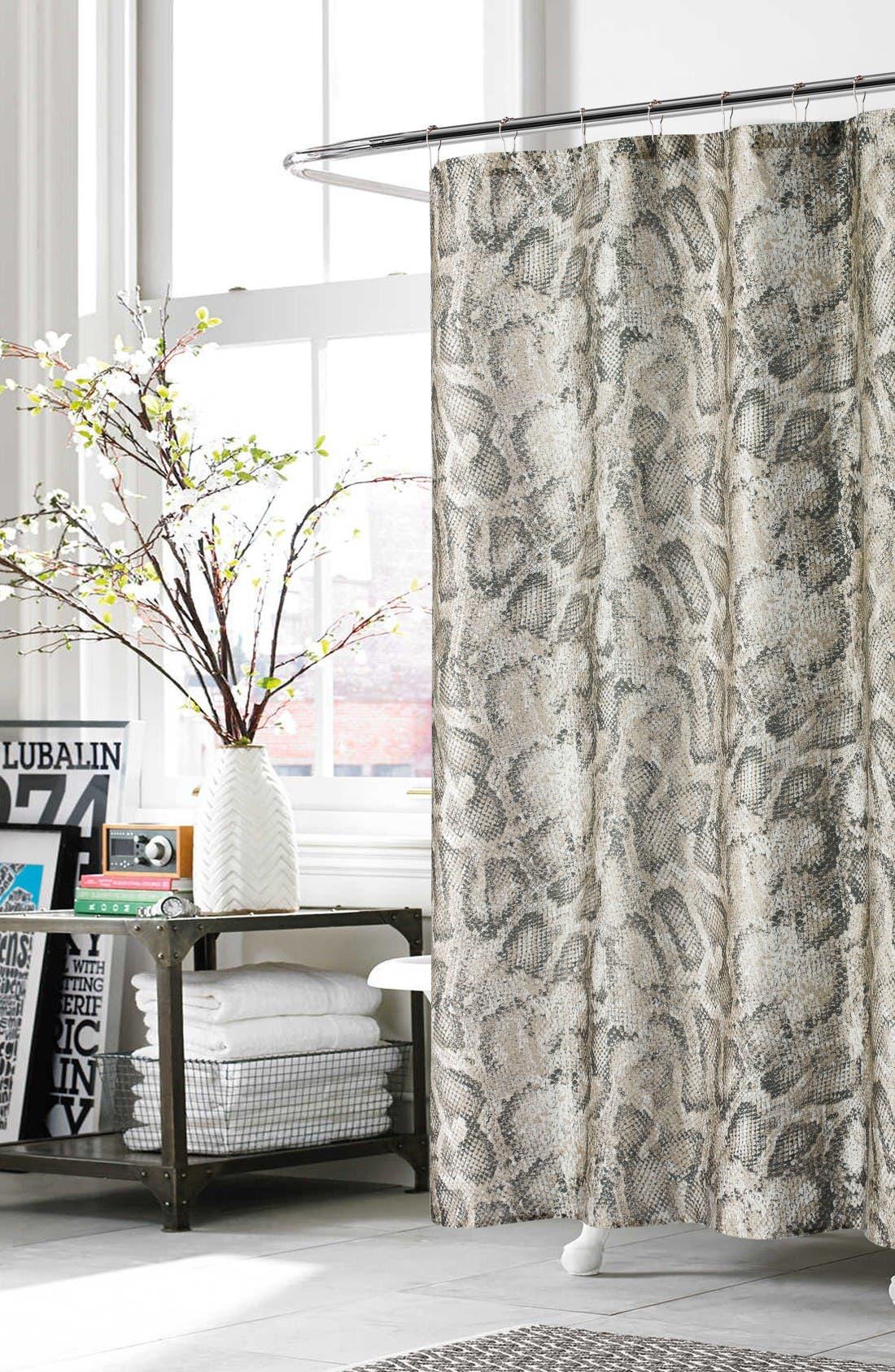 Main Image - kensie Beverly Shower Curtain