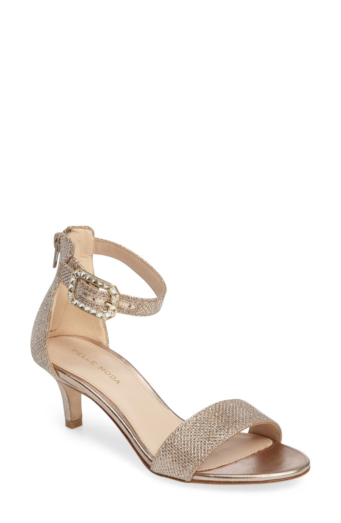 PELLE MODA Bette Ankle Strap Sandal