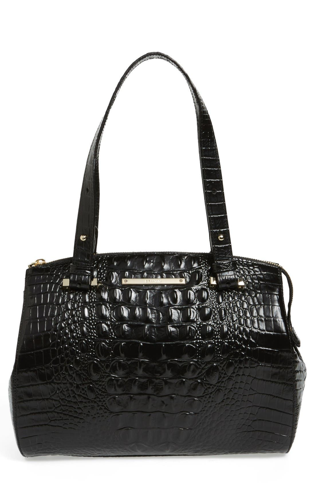 Alternate Image 1 Selected - Brahmin Small Alice Melbourne Leather Satchel