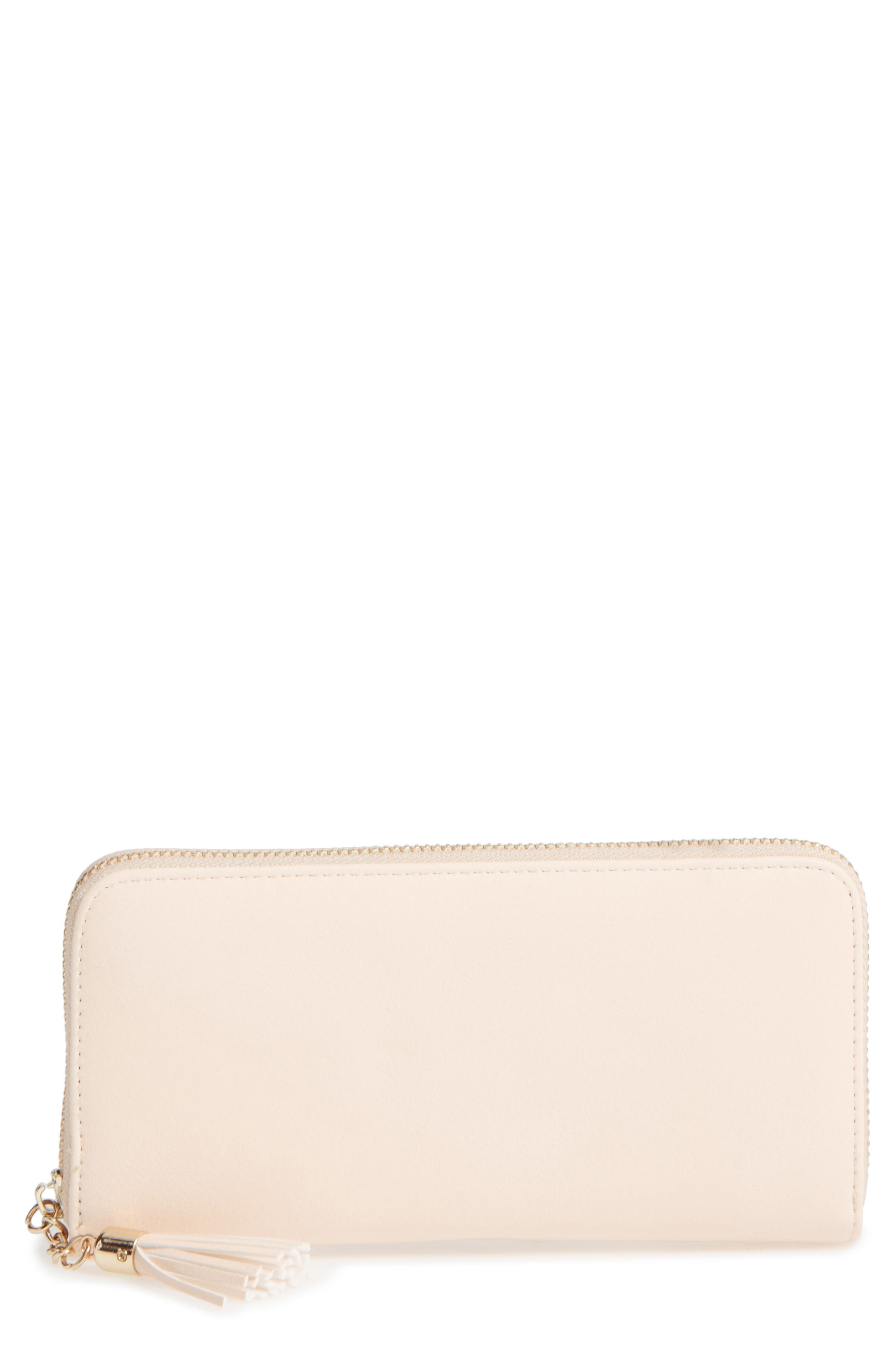 Alternate Image 1 Selected - Emperia Marsha Faux Leather Wallet