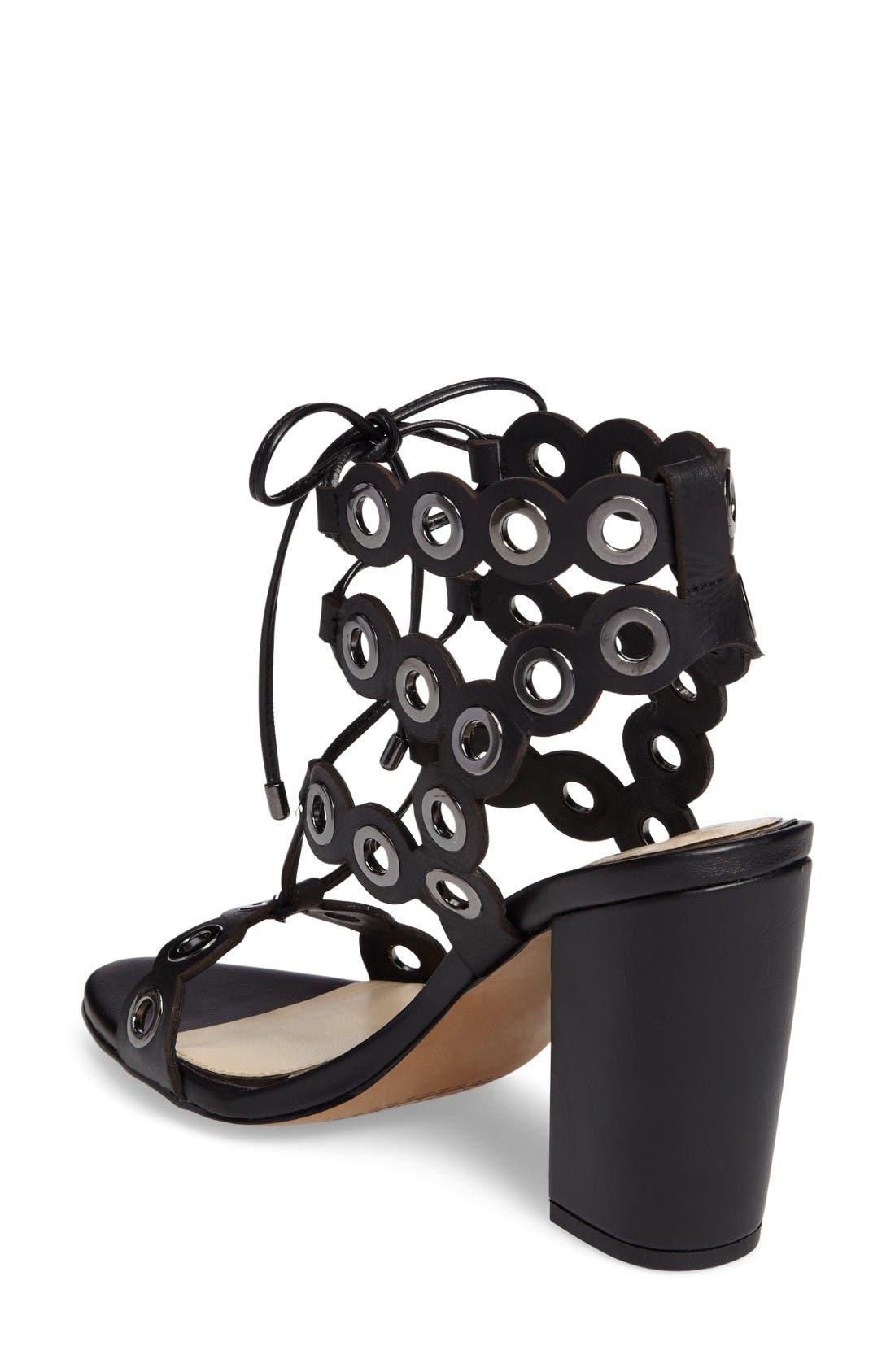 Alternate Image 2  - Jessica Simpson Kariss Lace-Up Sandal (Women)