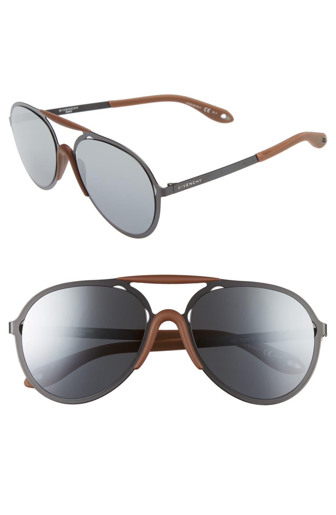 Main Image - Givenchy 57mm Sunglasses